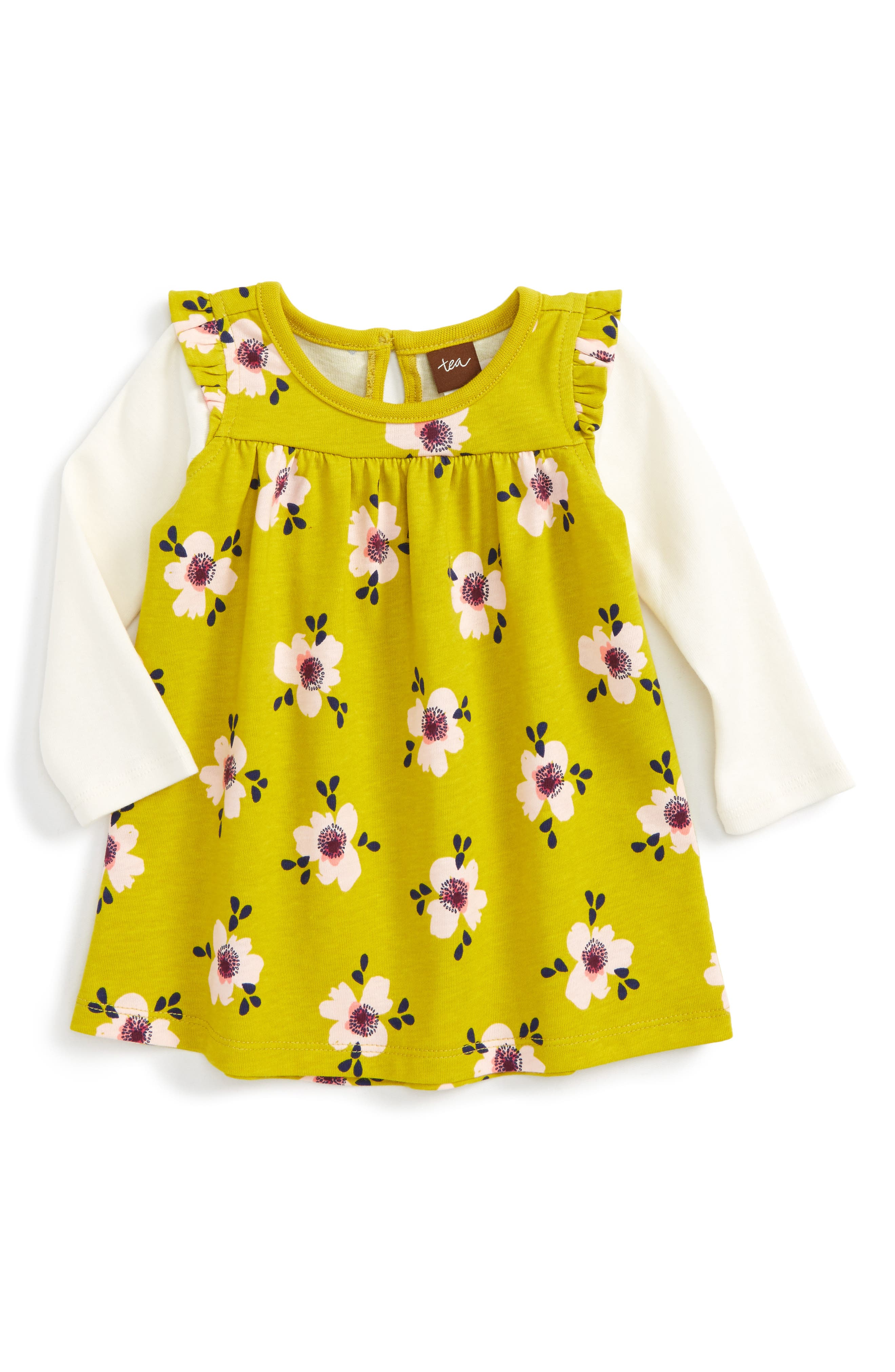 Tea Collection Maisie Mighty Mini Double Decker Dress (Baby Girls)