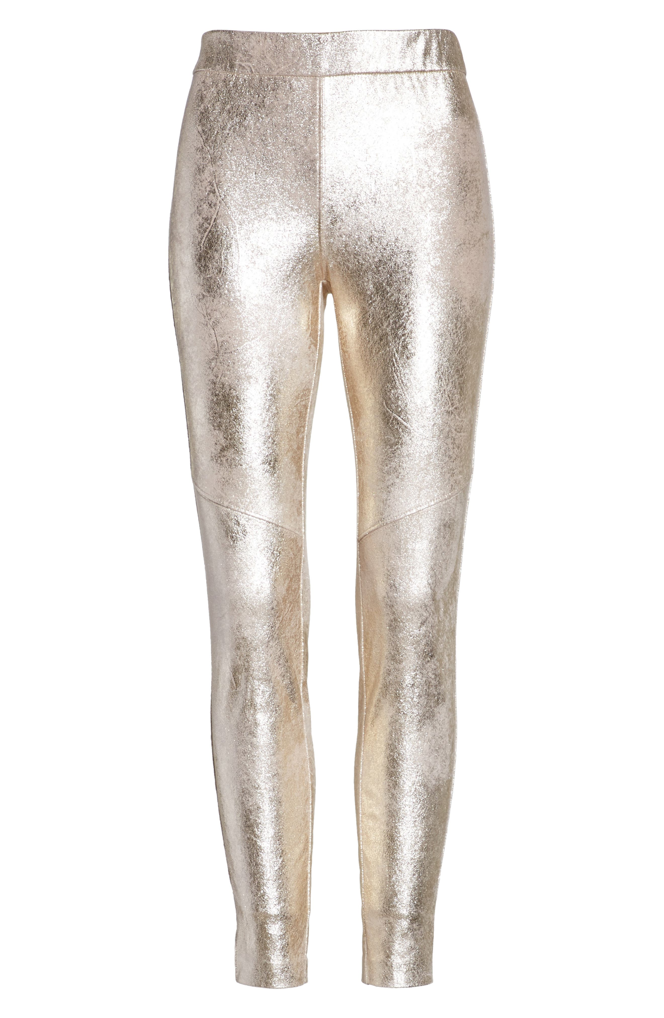Alternate Image 6  - Free People Faux Leather Leggings
