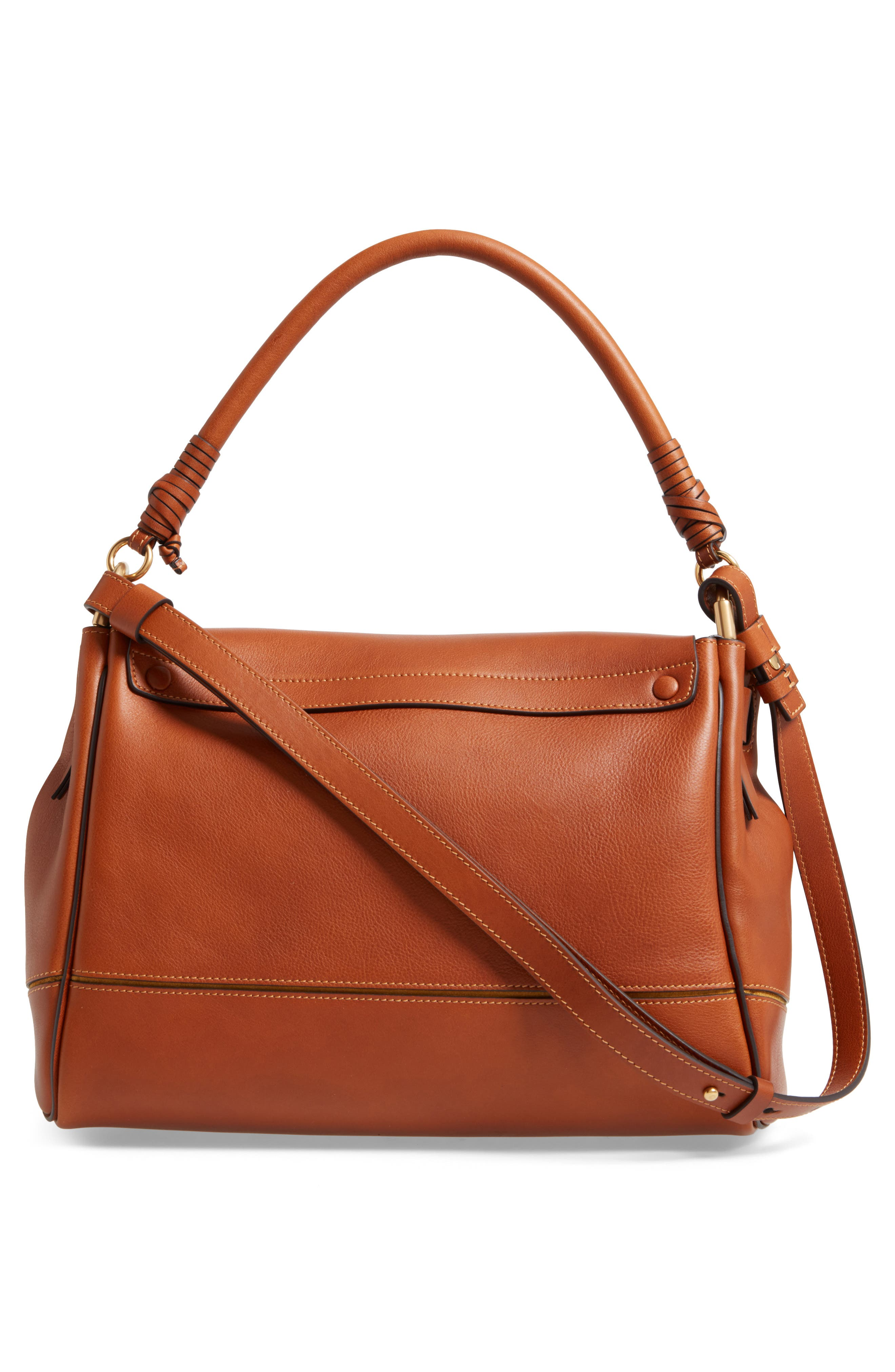 Alternate Image 2  - Chloé Medium Owen Calfskin Leather Satchel