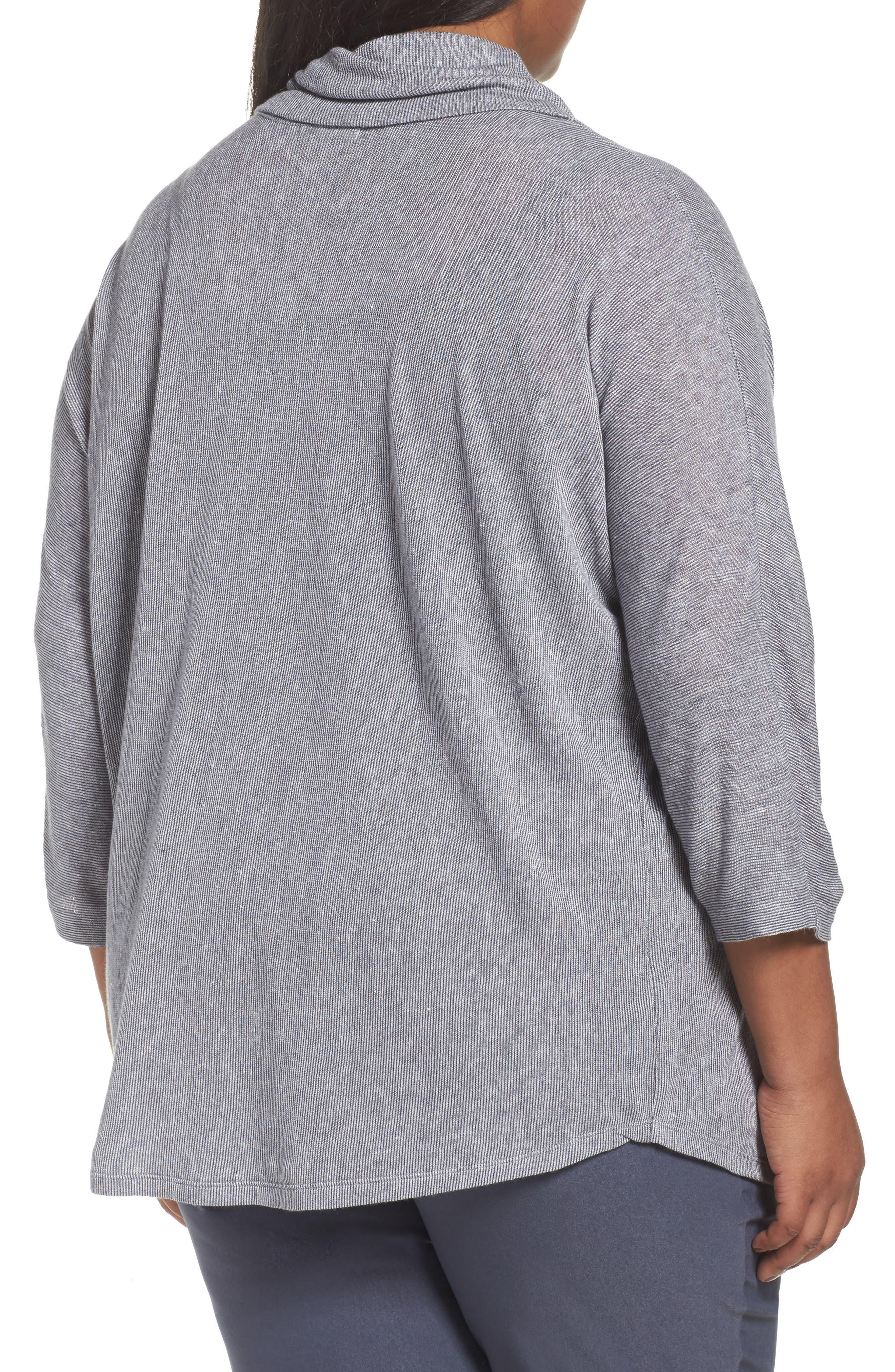 Alternate Image 2  - NIC+ZOE Blissful Cowl Neck Top (Plus Size)