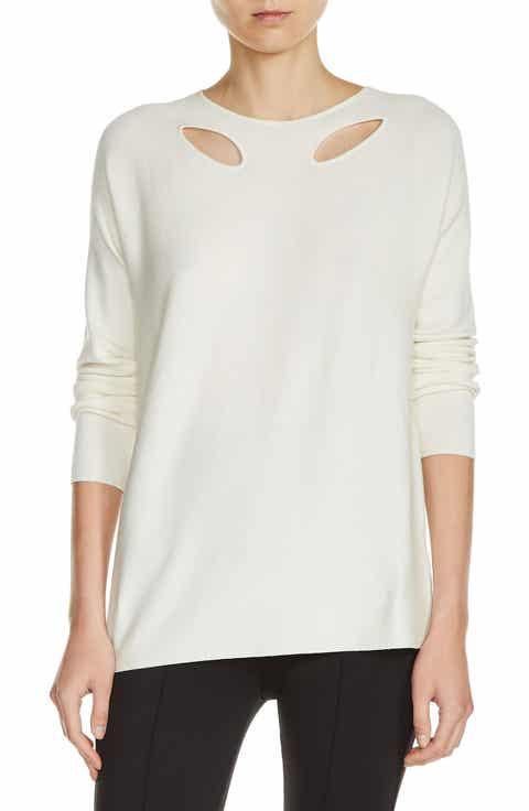 maje Keyhole Sweater