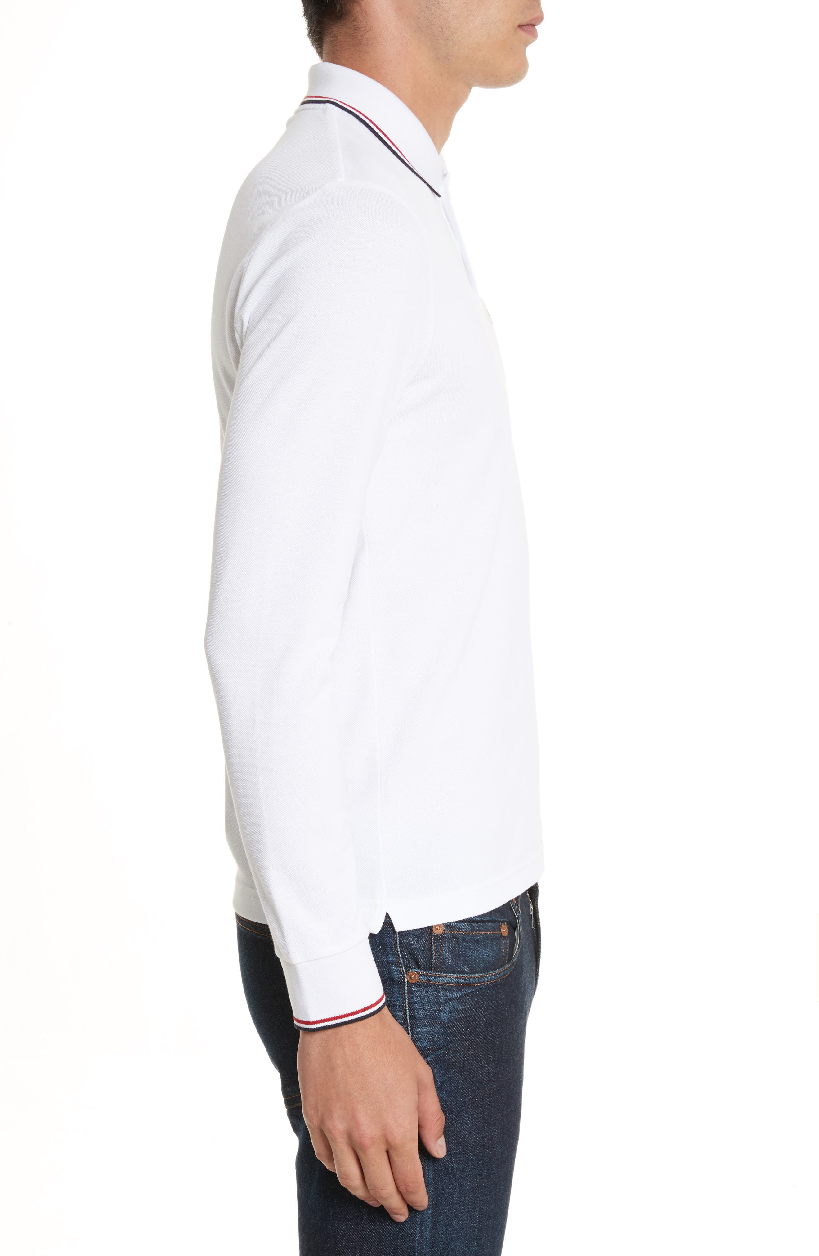 Alternate Image 3  - Moncler Maglia Long Sleeve Polo