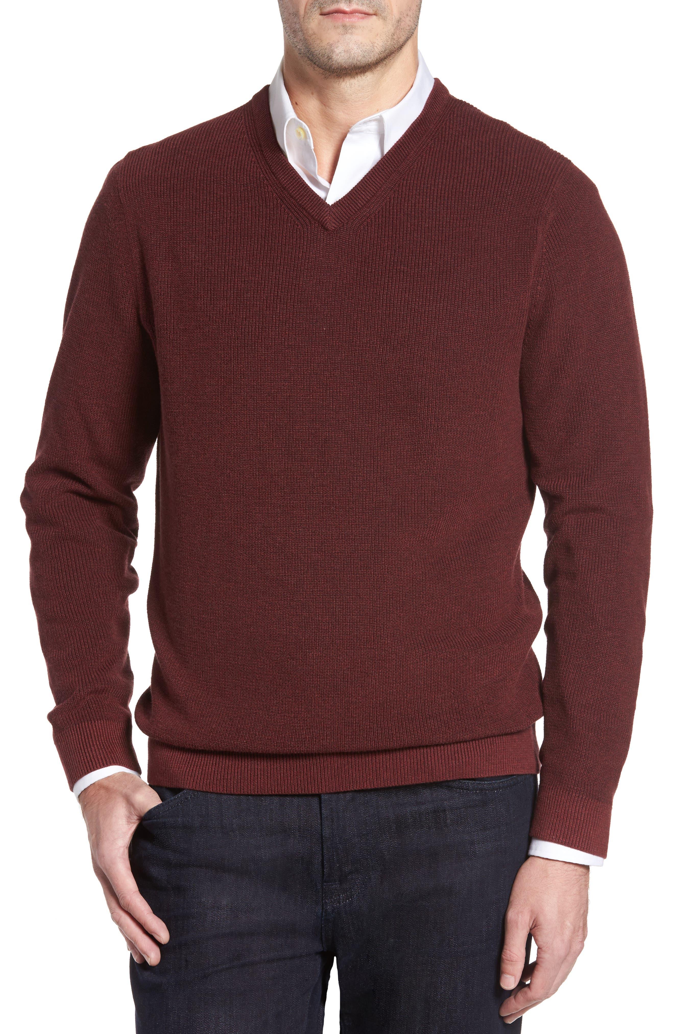 Tommy Bahama Las Palmas Reversible Sweater (Big & Tall)
