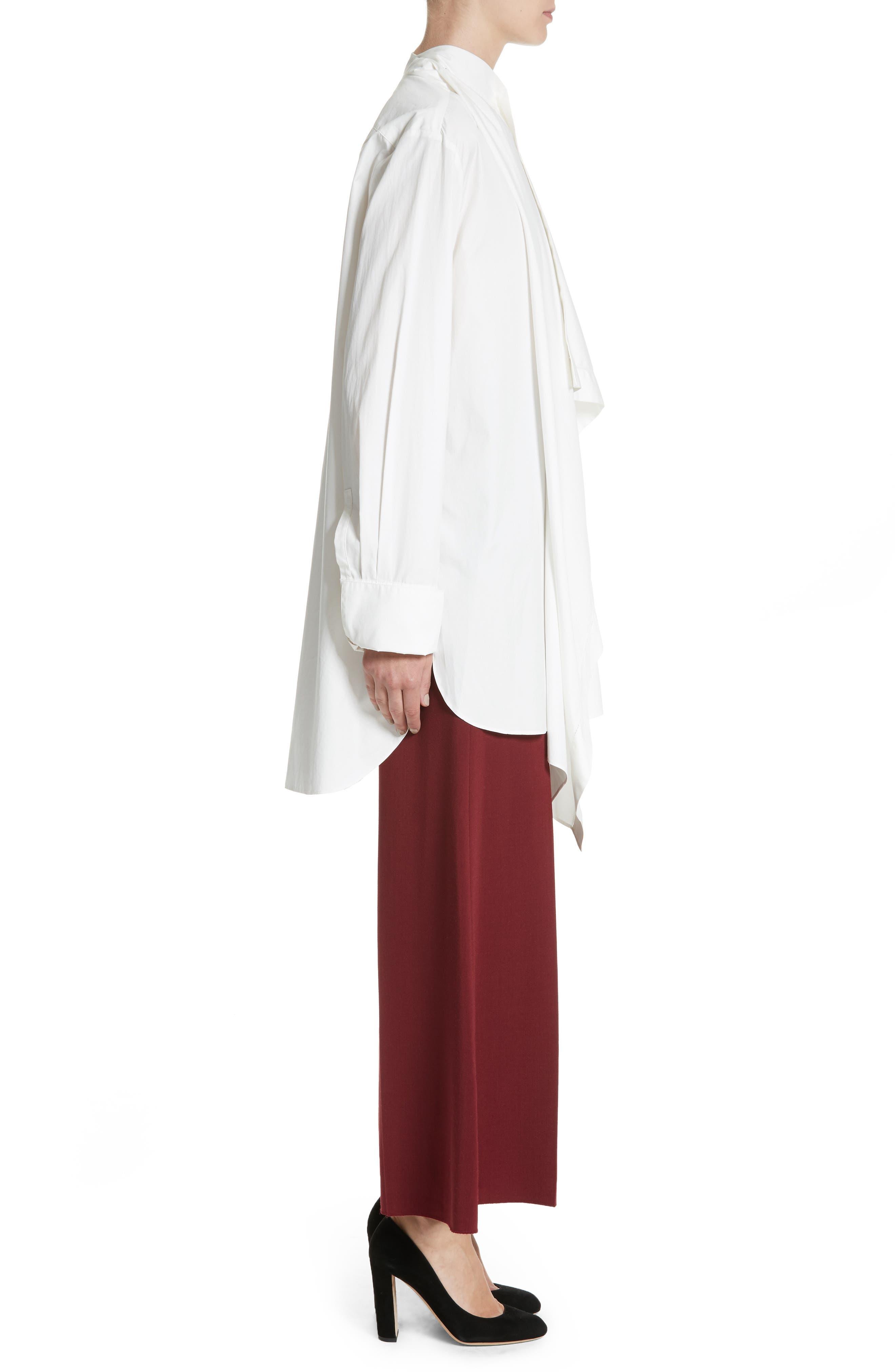 Alternate Image 3  - Roksanda Akano Drape Front Twill Top