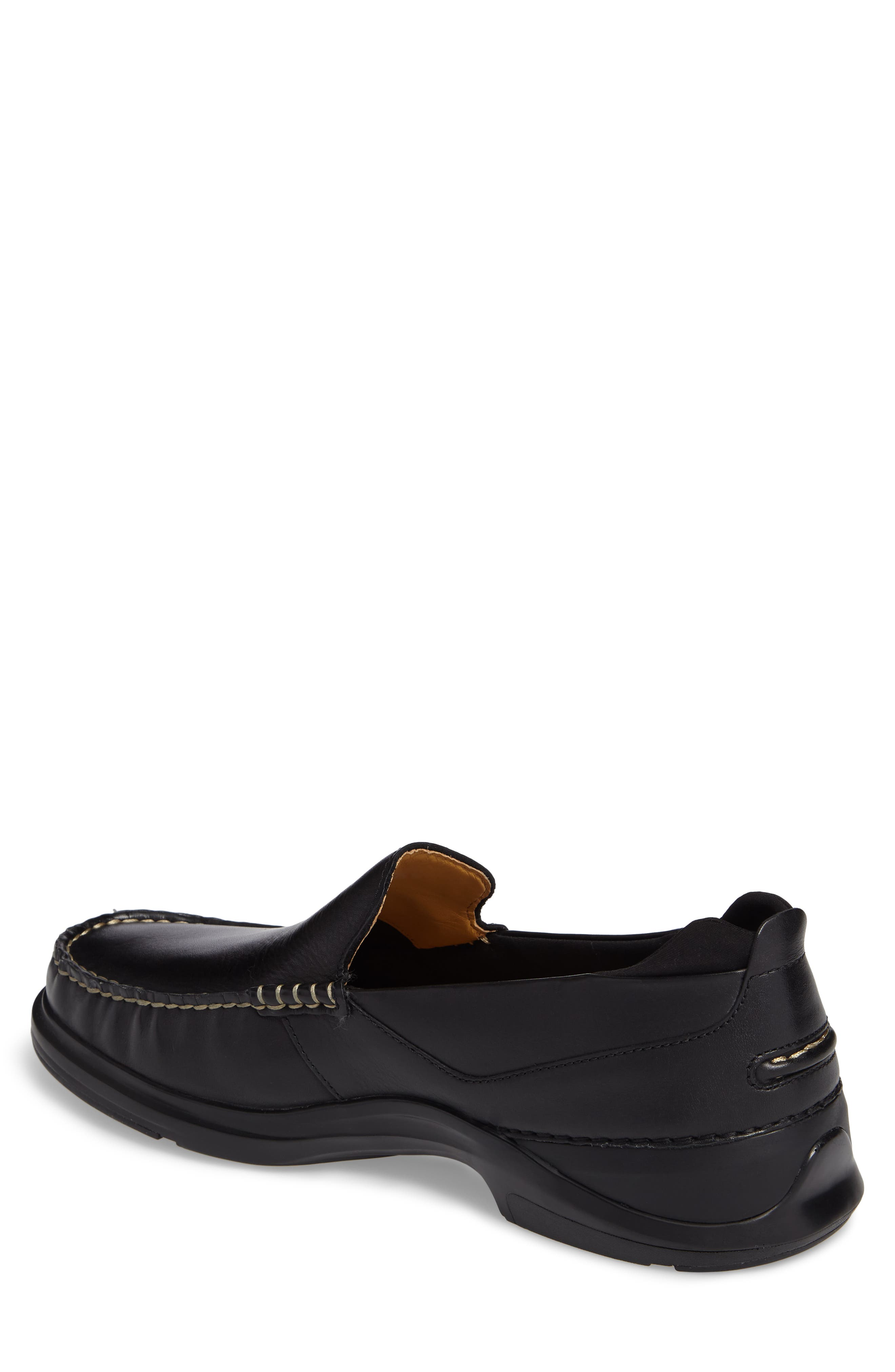 Bancroft Loafer,                             Alternate thumbnail 2, color,                             Black