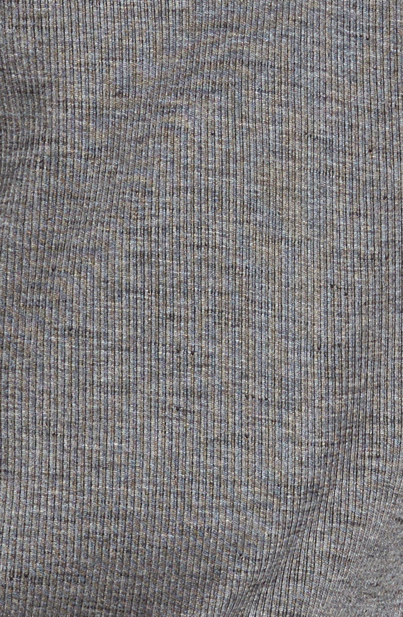 Alternate Image 5  - Tommy Bahama Flipsider Half Zip Reversible Sweatshirt