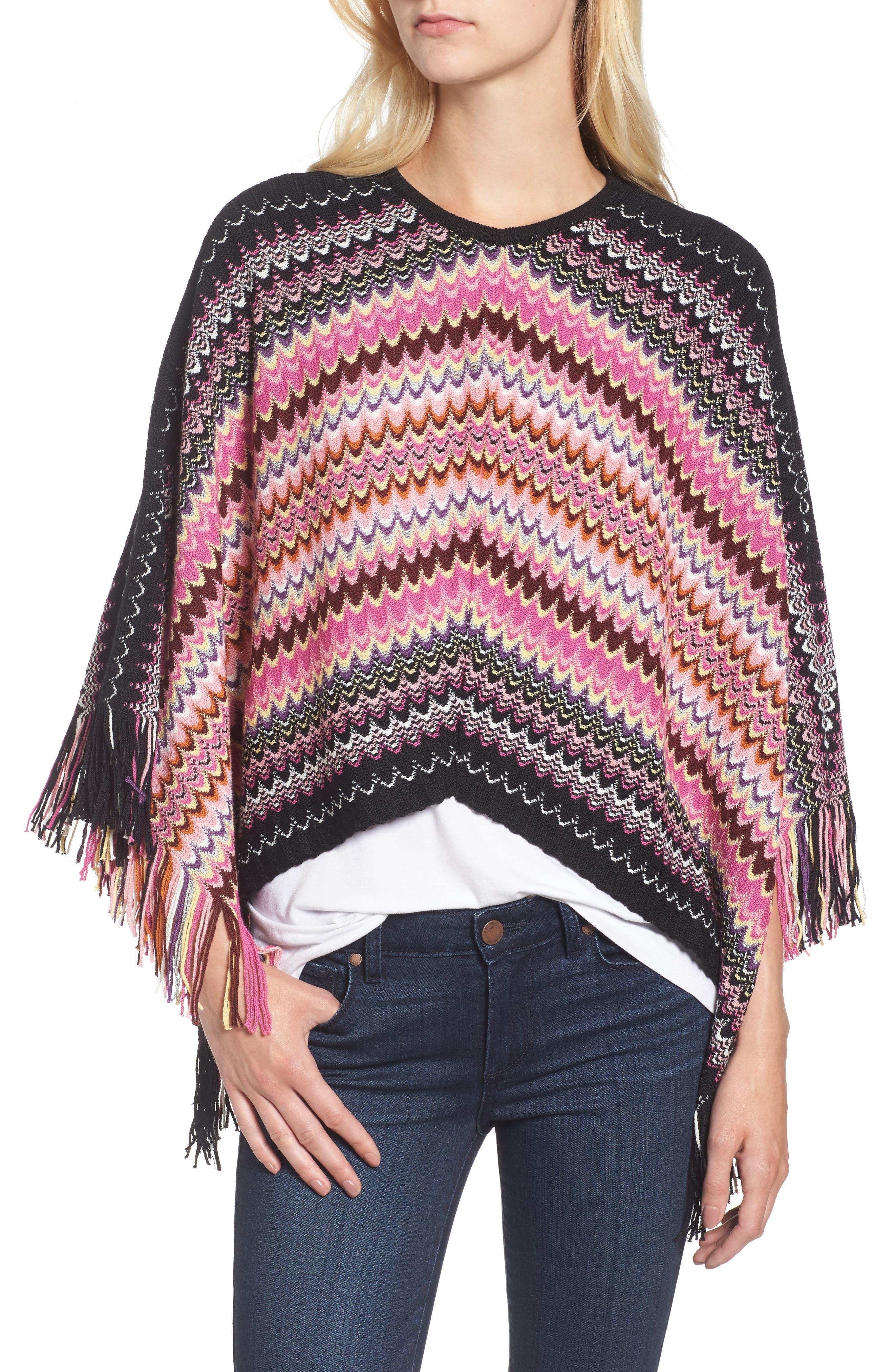 Alternate Image 3  - Missoni Stripe Poncho