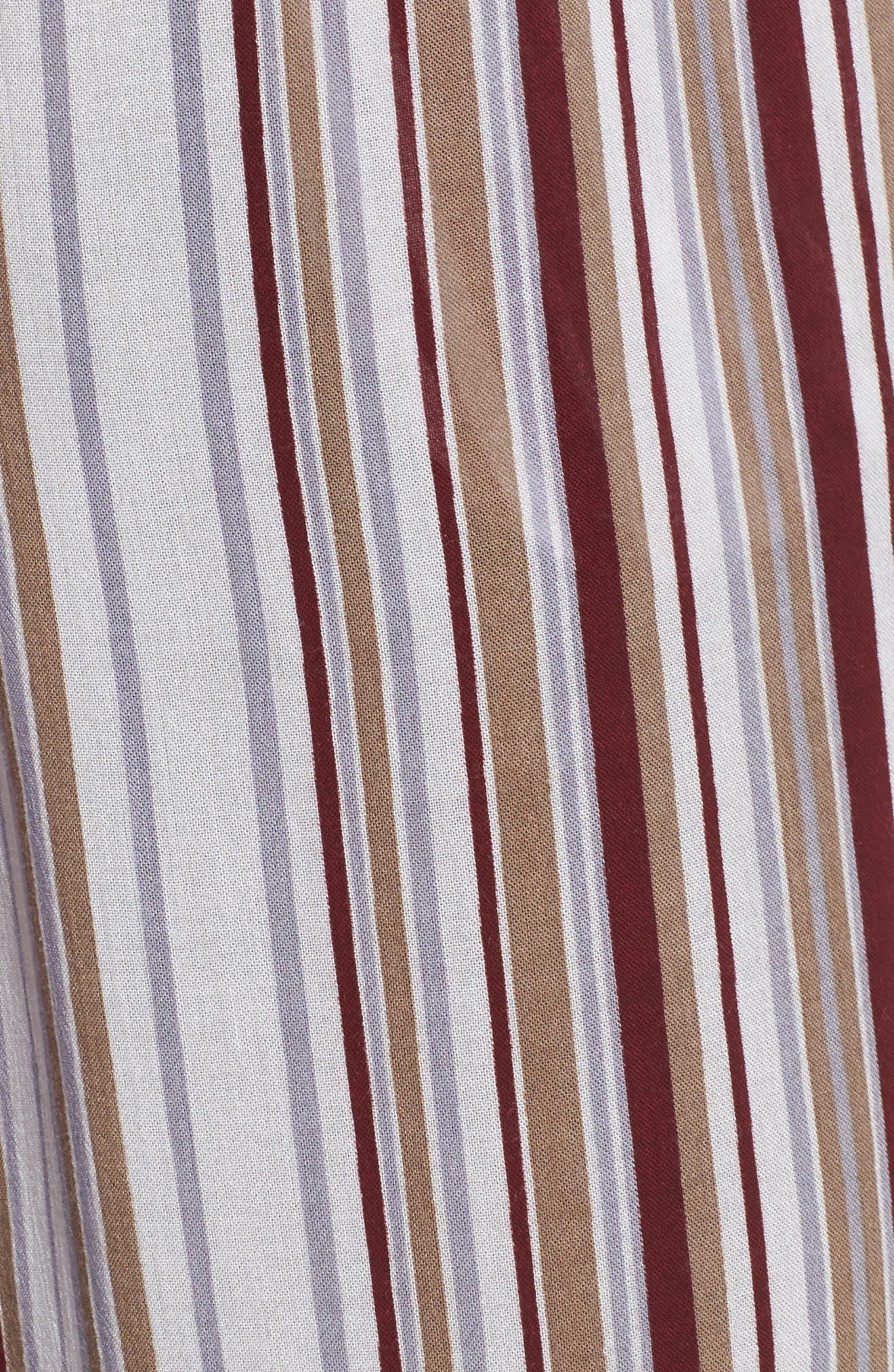 Alternate Image 5  - FAITHFULL THE BRAND Tilos Stripe Knotted Jumpsuit