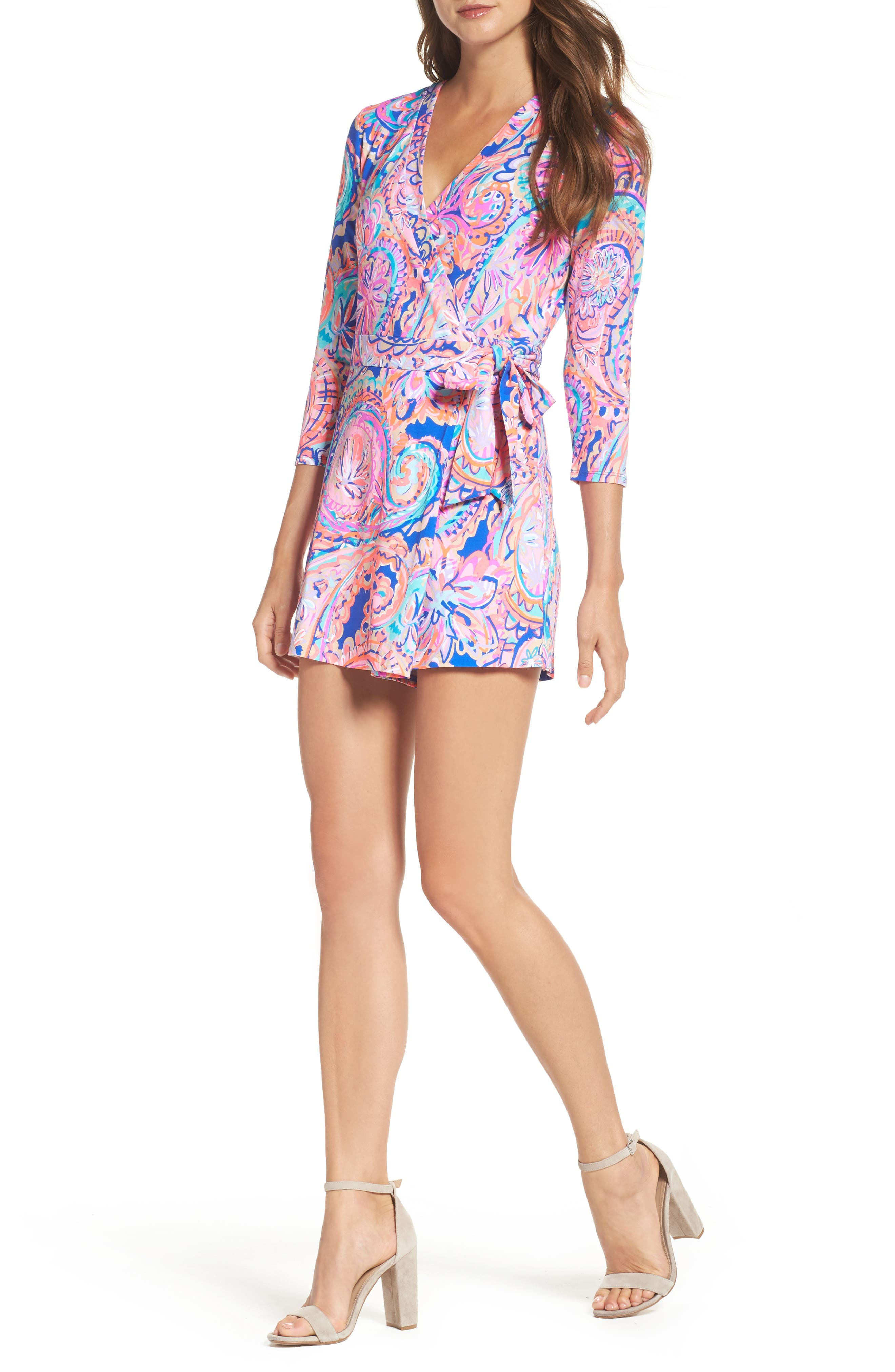 Main Image - Lilly Pulitzer® Karlie Wrap Romper