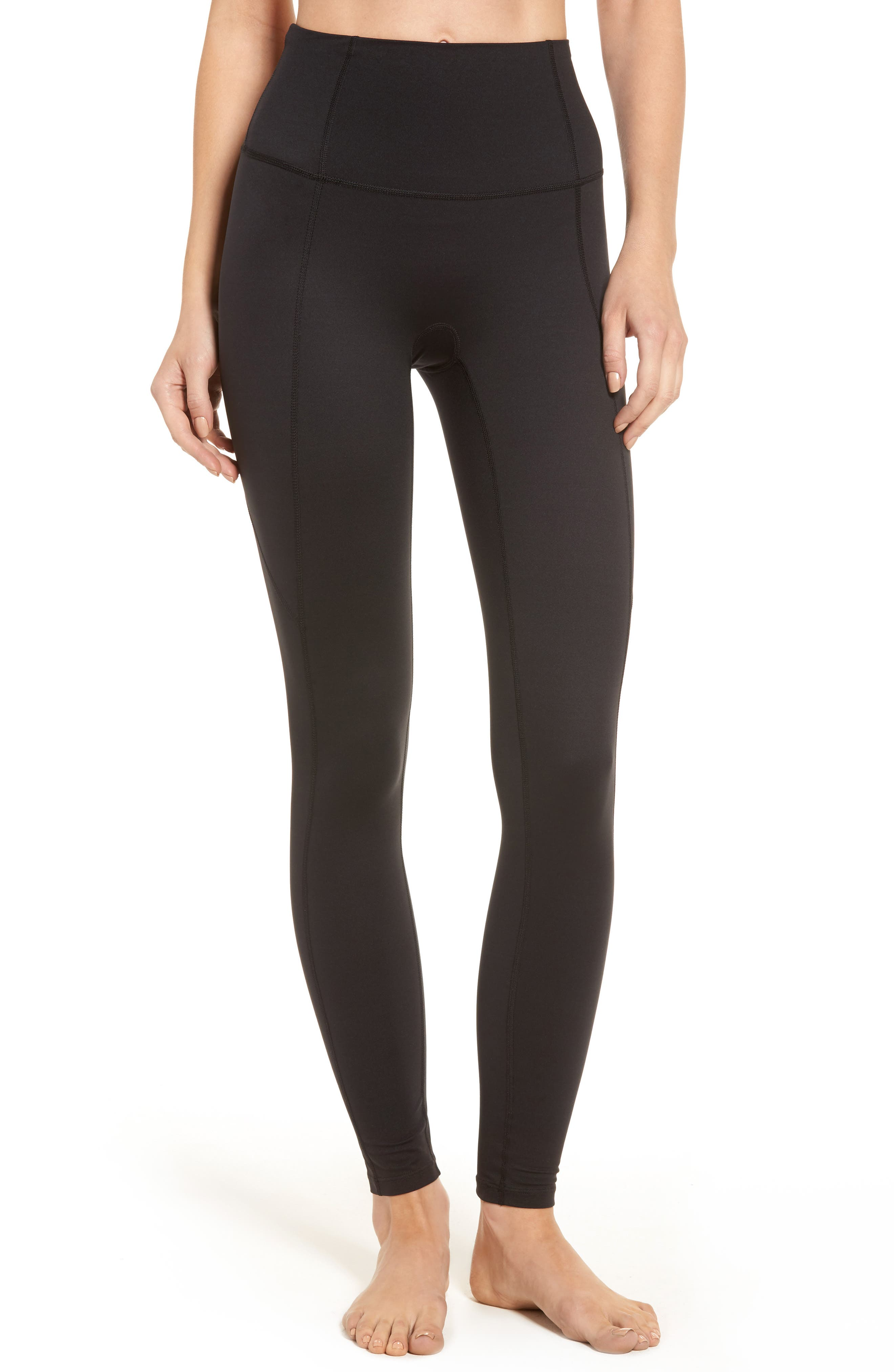 Alternate Image 1 Selected - SPANX® Compression Leggings