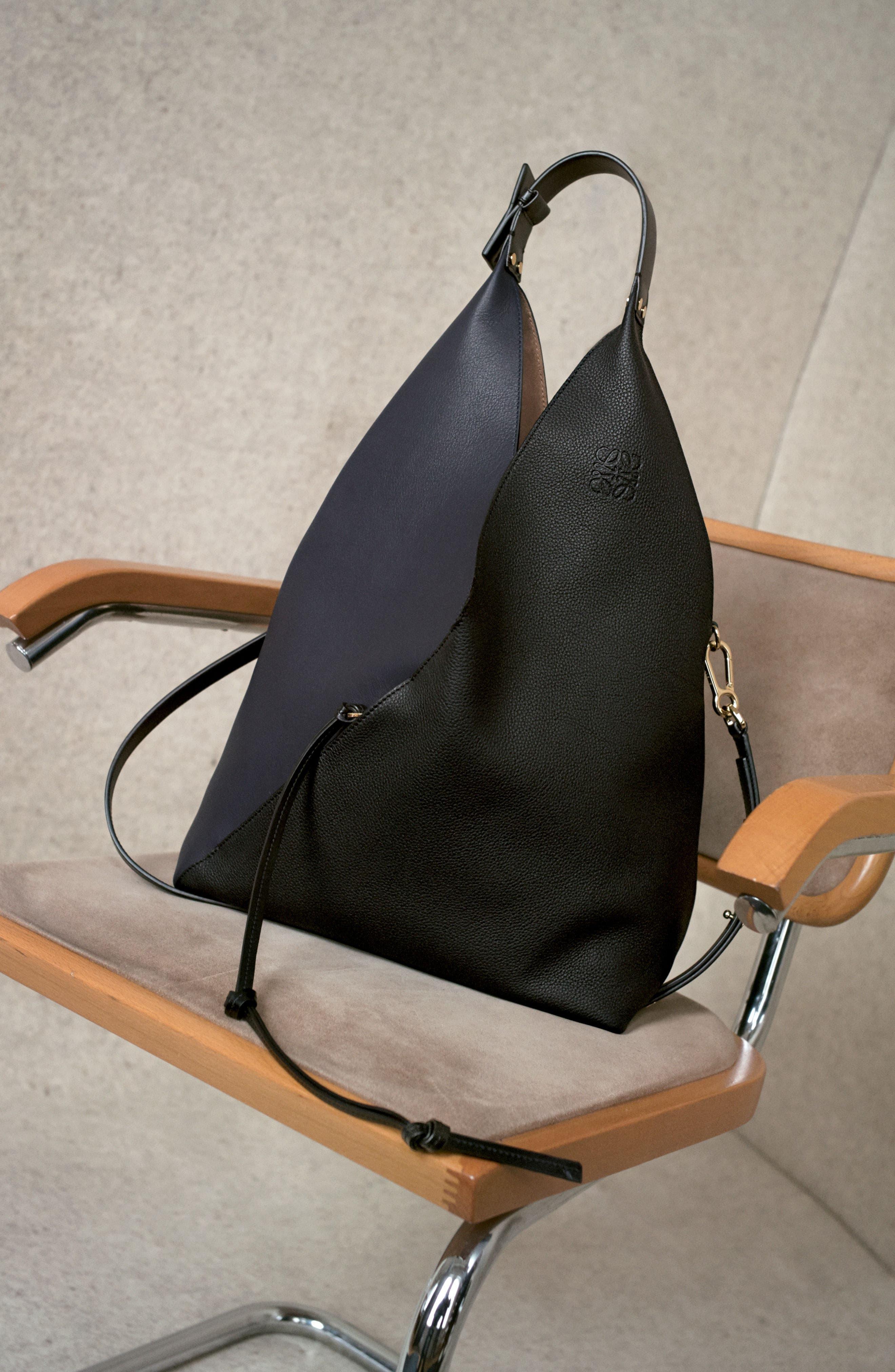 Calfskin Leather Sling Bag,                             Alternate thumbnail 6, color,