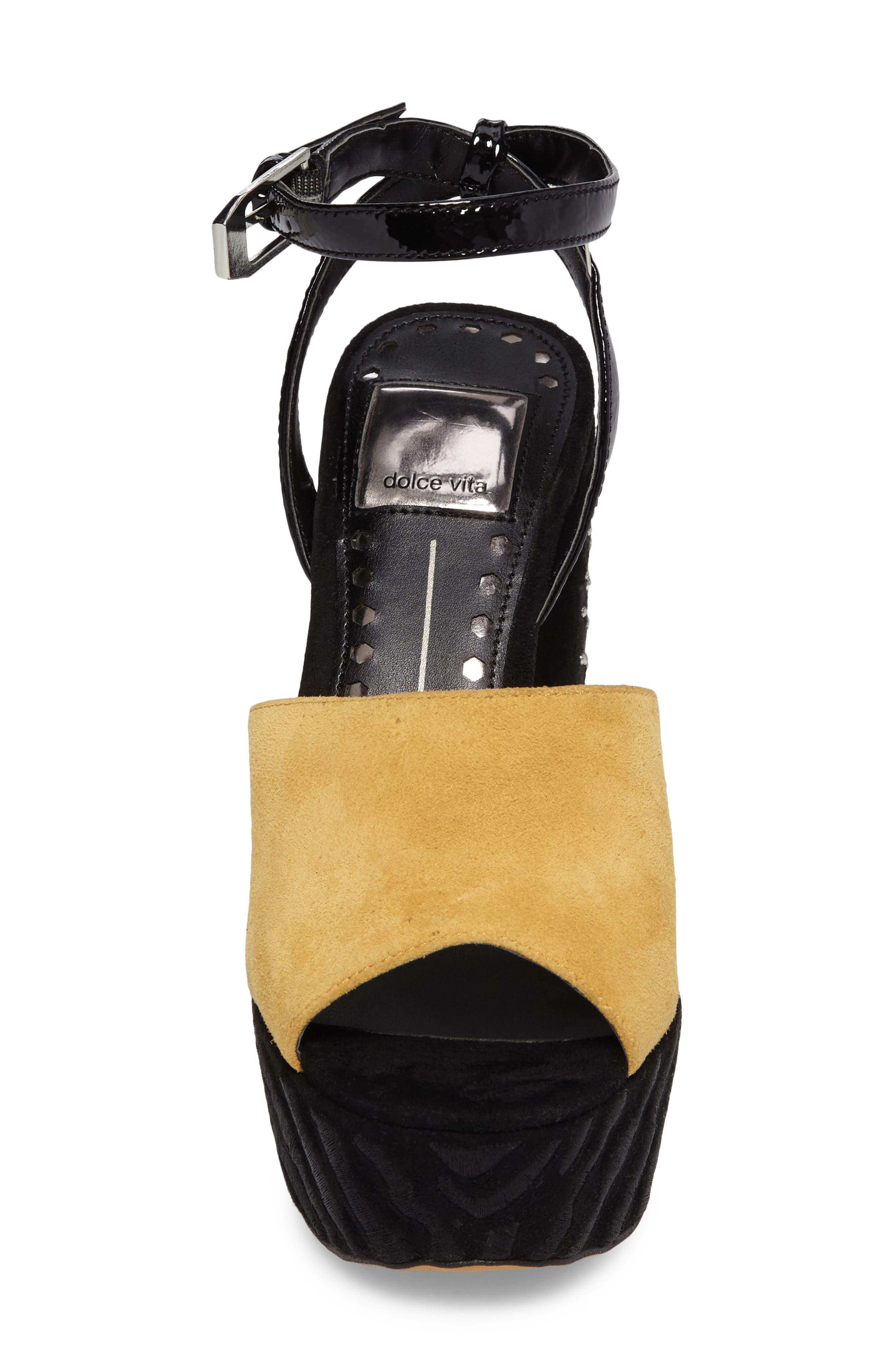 Alternate Image 4  - Dolce Vita Platform Sandal (Women)