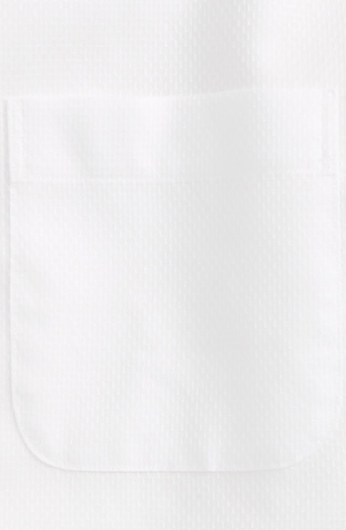 Alternate Image 2  - Nordstrom Smartcare™ Honeycomb Dress Shirt (Big Boys)