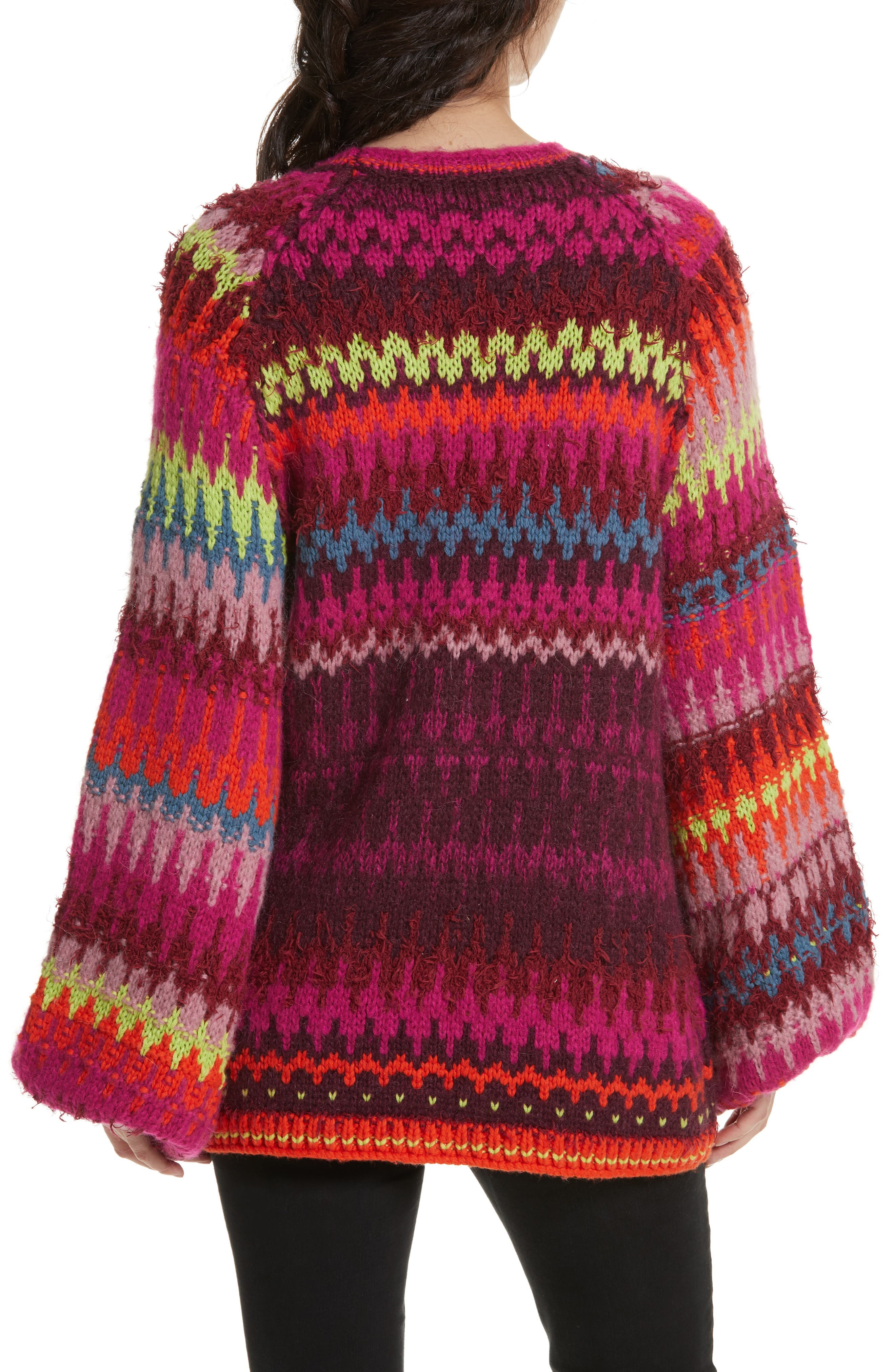 Castles in the Sky Sweater,                             Alternate thumbnail 2, color,                             Multi