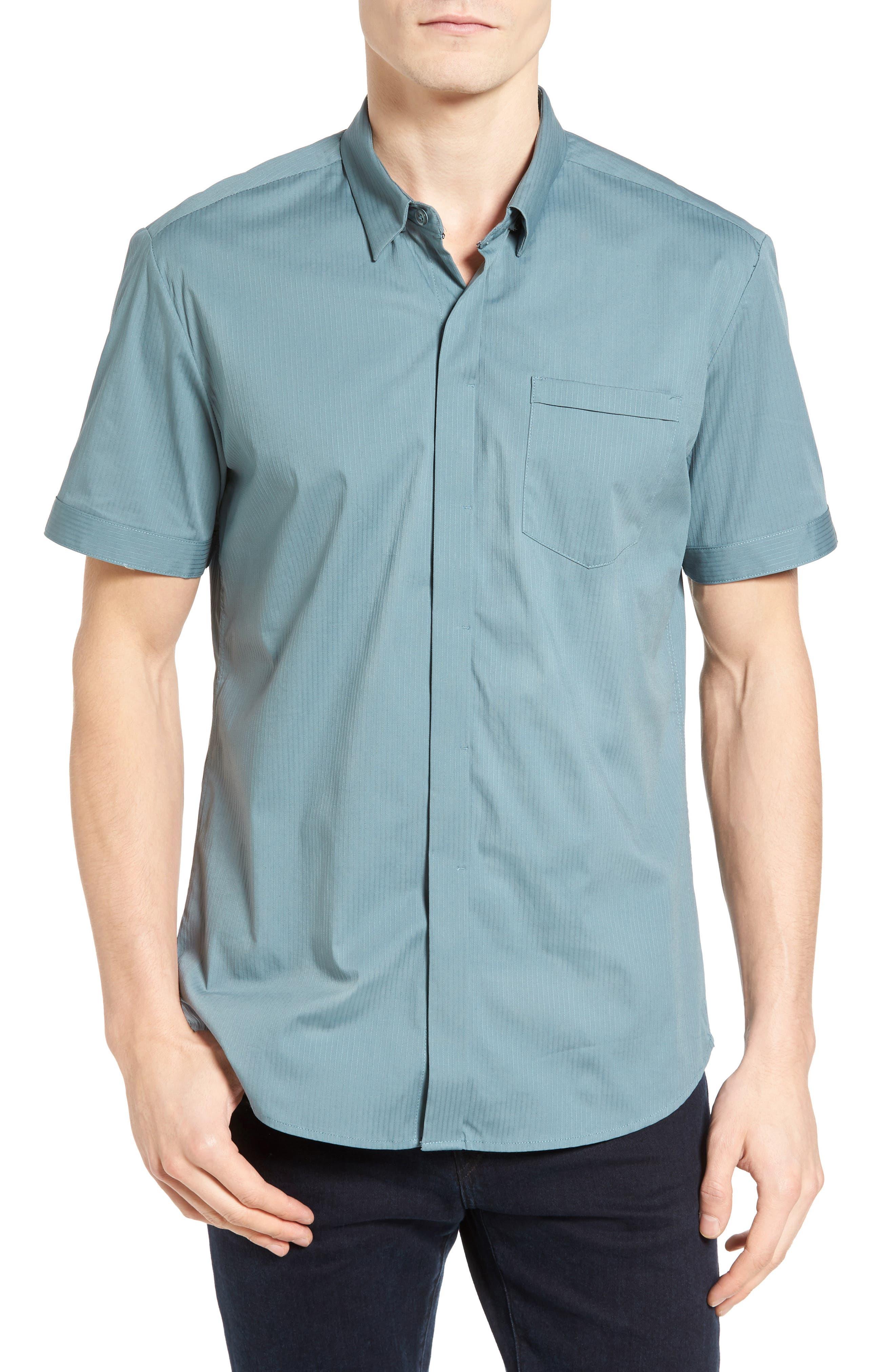 Alternate Image 1 Selected - 7 Diamonds City Savior Woven Shirt