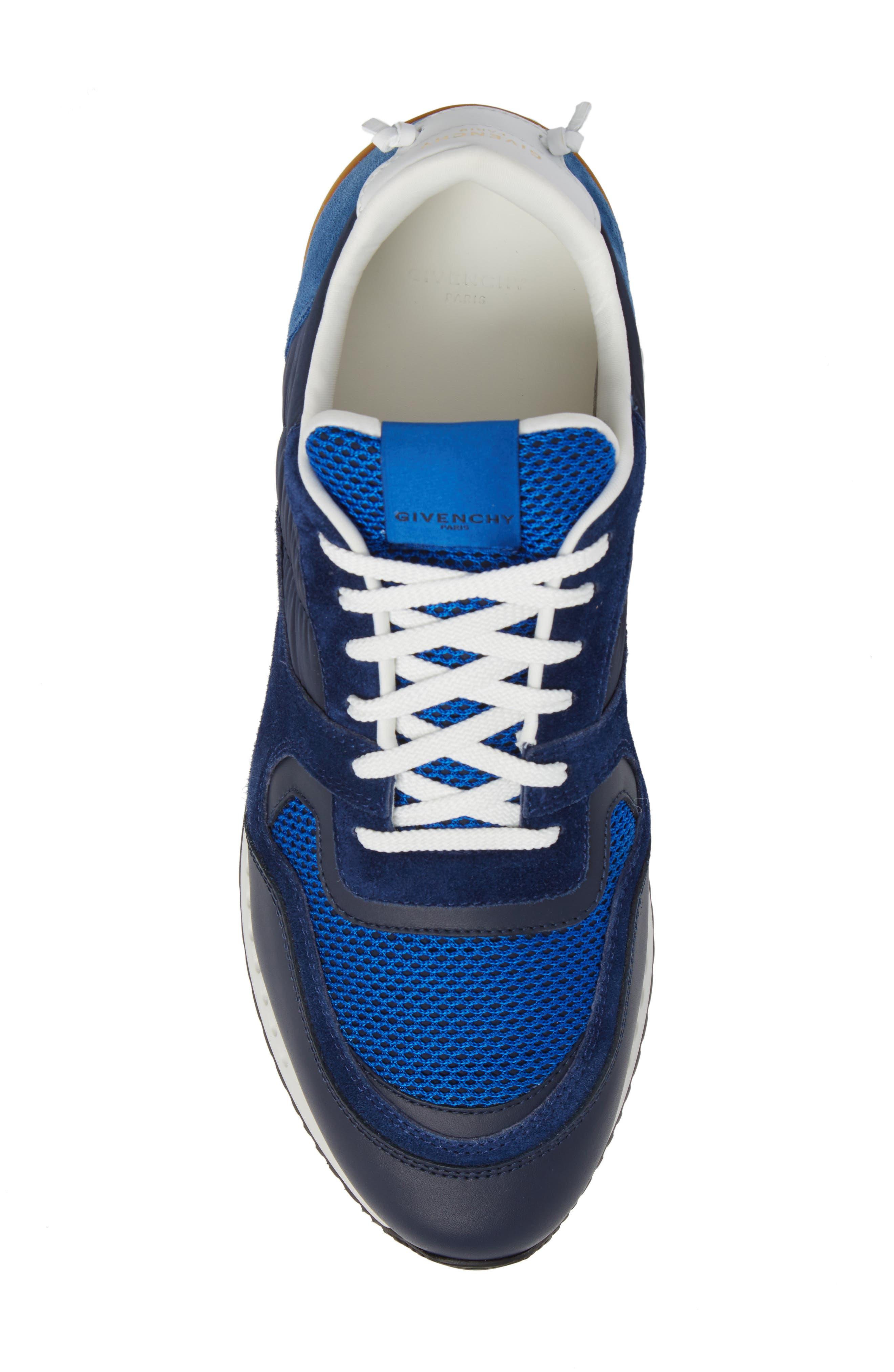 Alternate Image 5  - Givenchy Mixed-Finish Sneaker (Men)