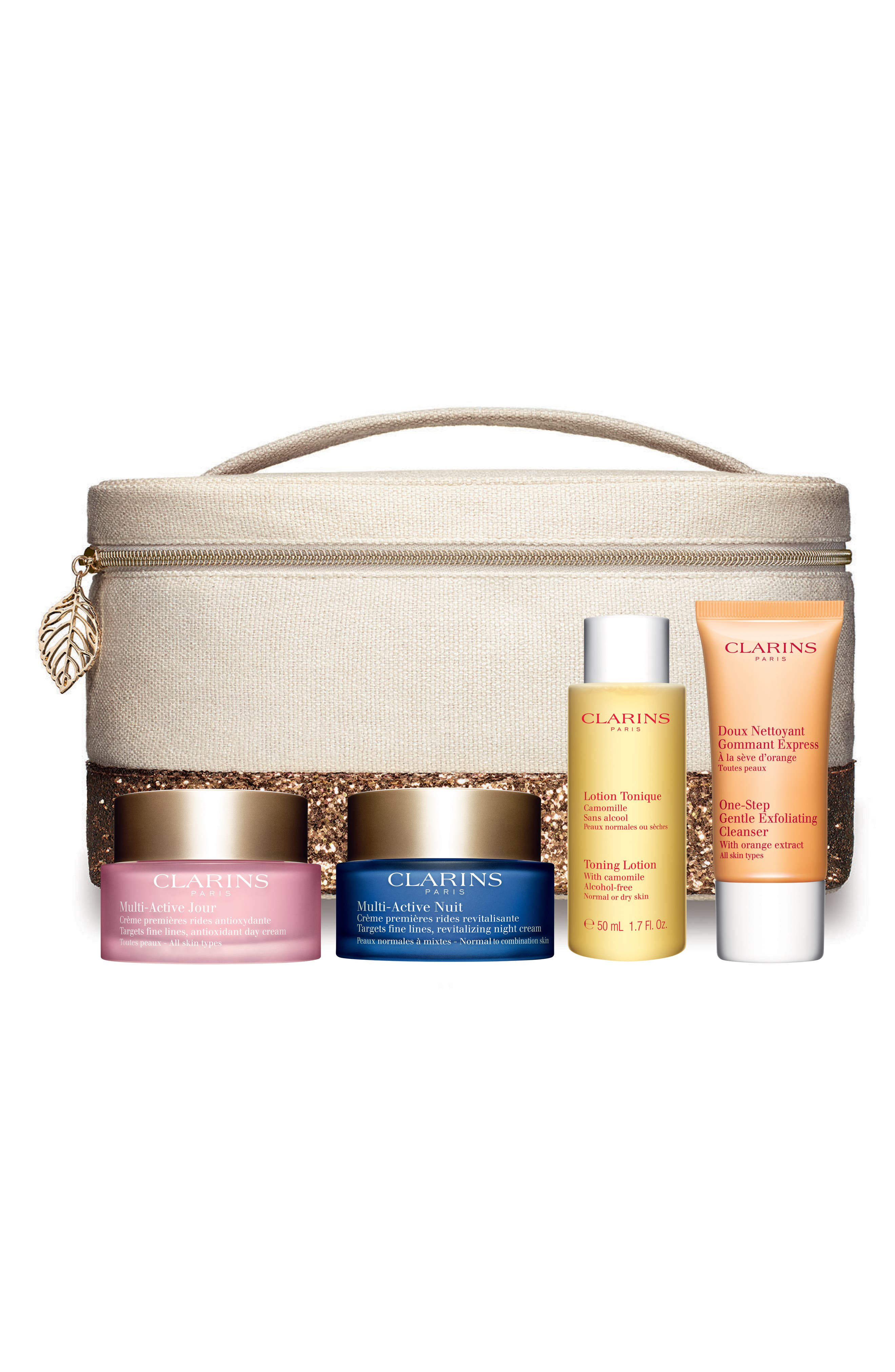 Main Image - Clarins Multi-Active Luxury Collection (Over $137 Value)