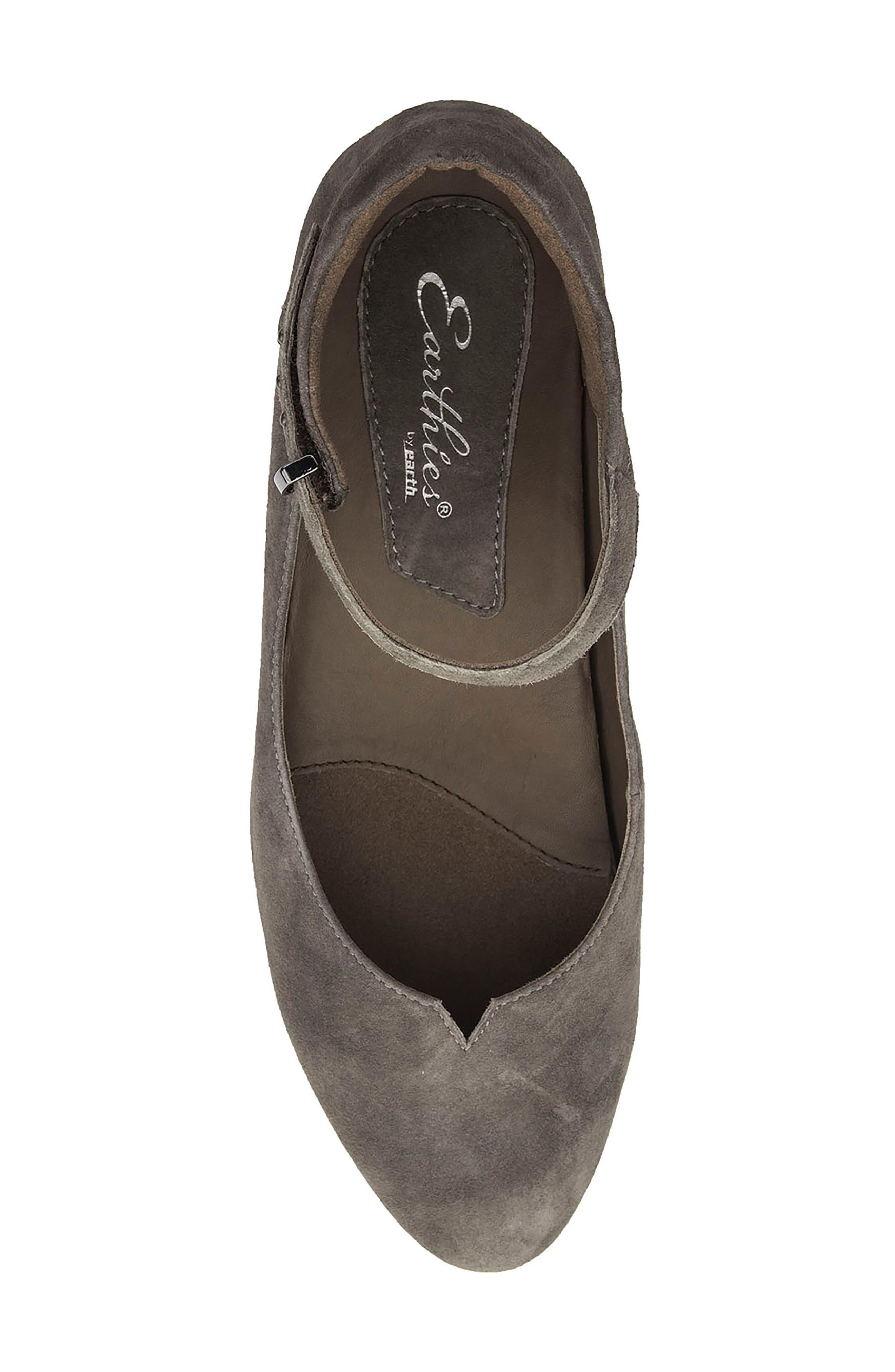 Alternate Image 5  - Earthies® Emery Ankle Strap Flat (Women)