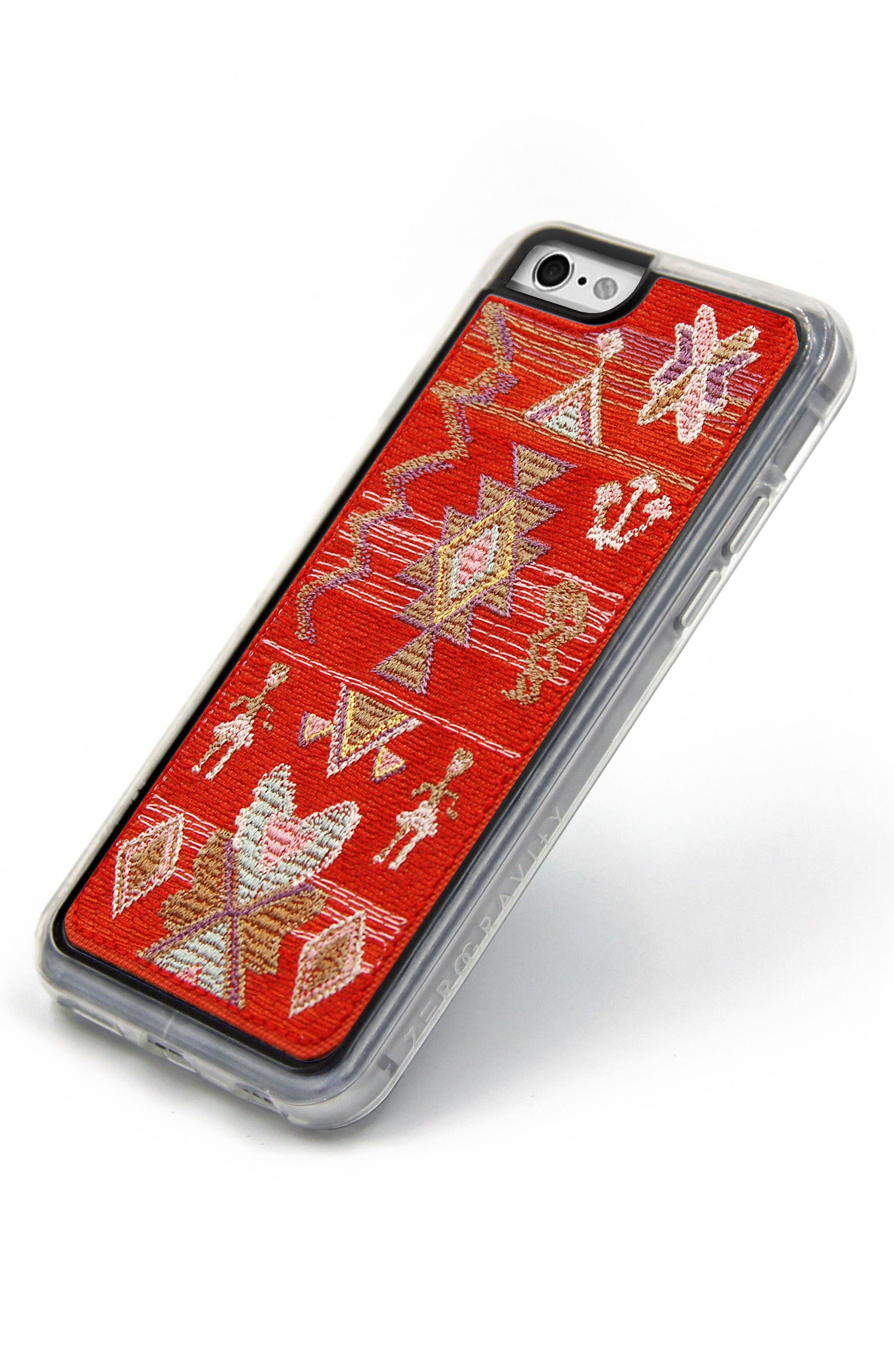 x Rocky Barnes Sahara iPhone 6/6s/7/8 & 6/6s/7/8 Plus Case,                             Alternate thumbnail 3, color,                             Red