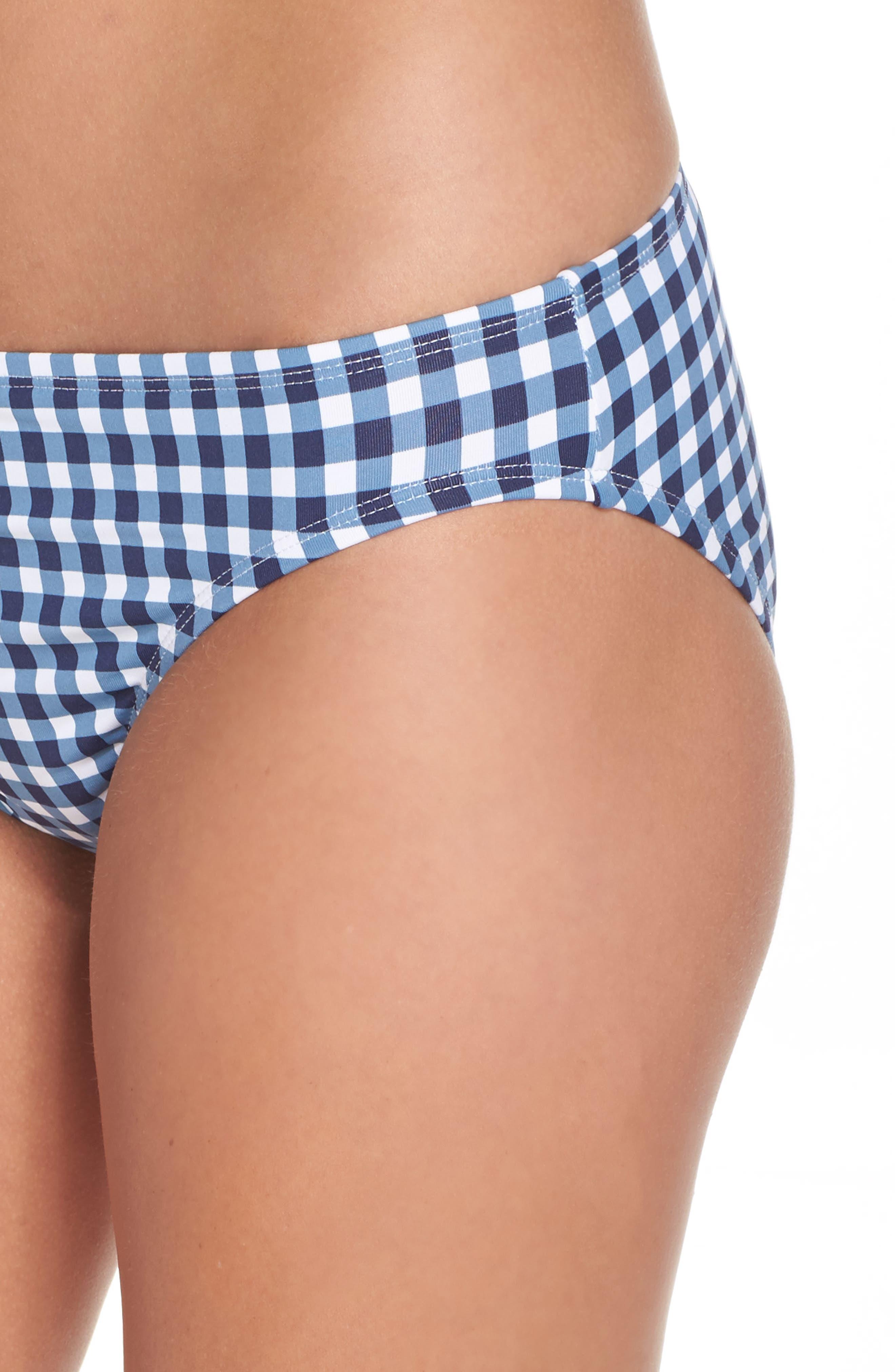 Alternate Image 4  - Tommy Bahama Gingham Bikini Bottoms