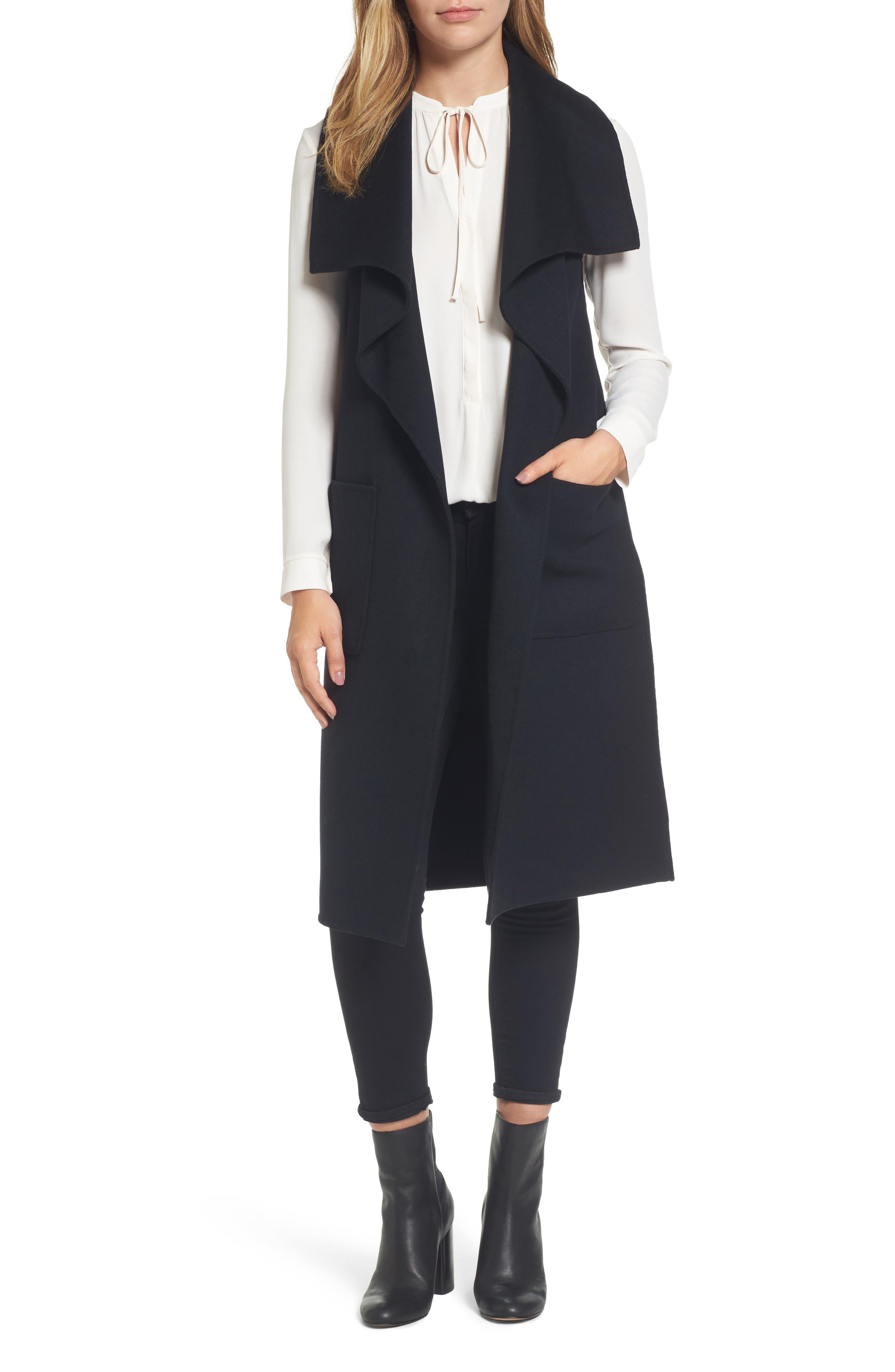 Mackage Tiffany Double-Face Wool Vest
