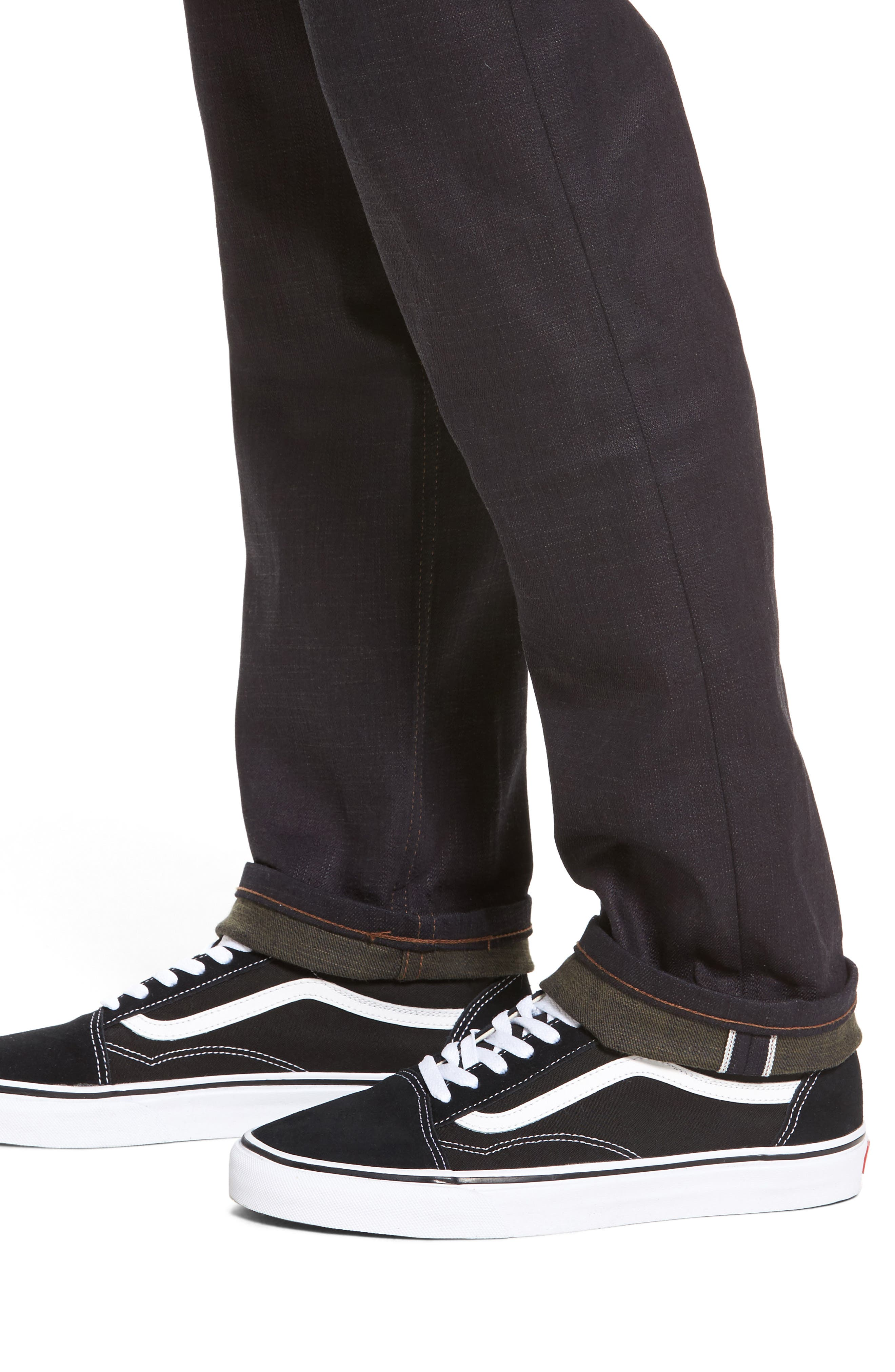 Alternate Image 4  - Naked & Famous Denim Weird Guy Slim Fit Jeans
