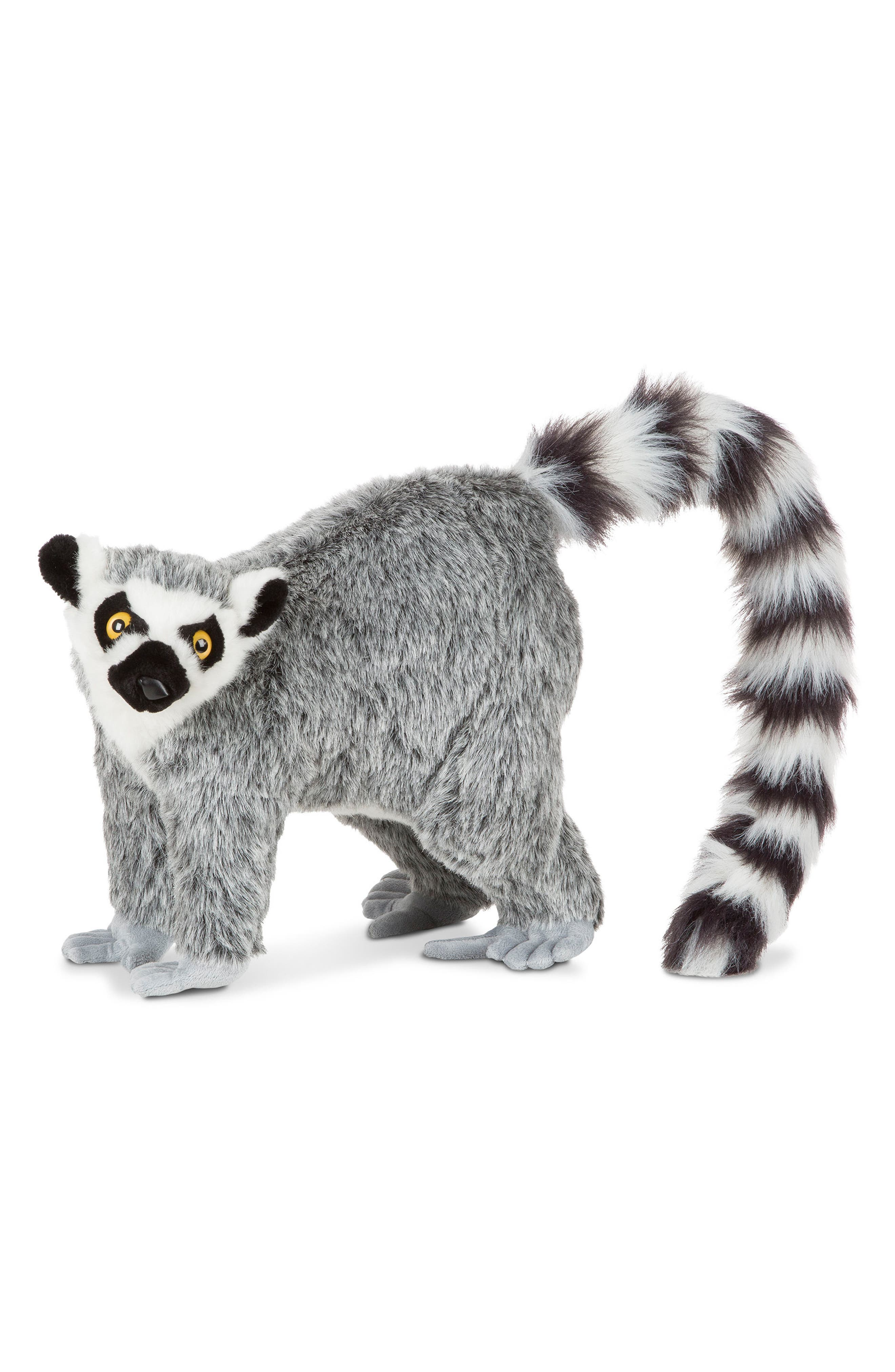 Lemur Stuffed Animal,                             Alternate thumbnail 3, color,                             Grey Multi