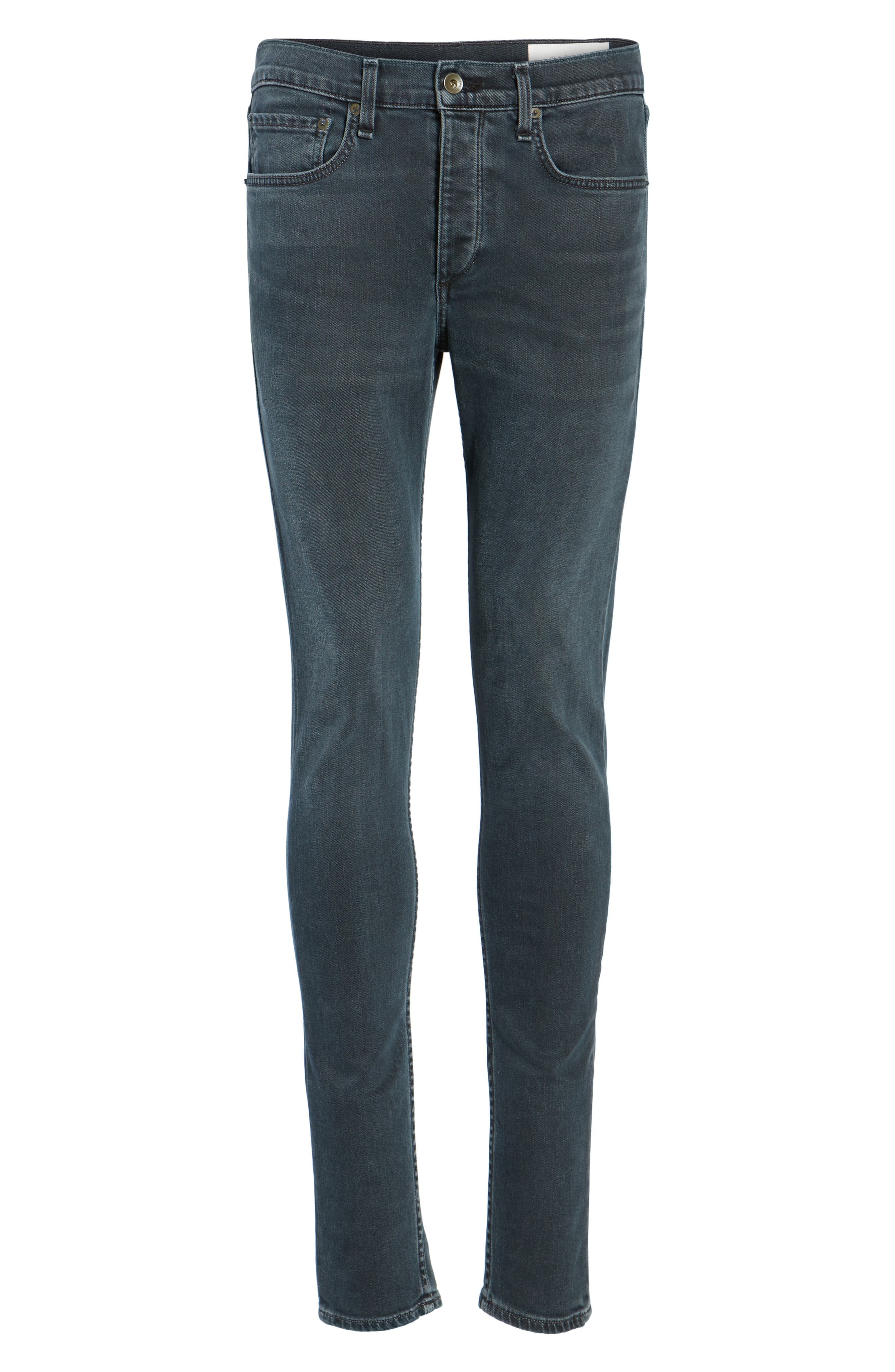 Fit 1 Skinny Fit Jeans,                             Alternate thumbnail 6, color,                             Minna