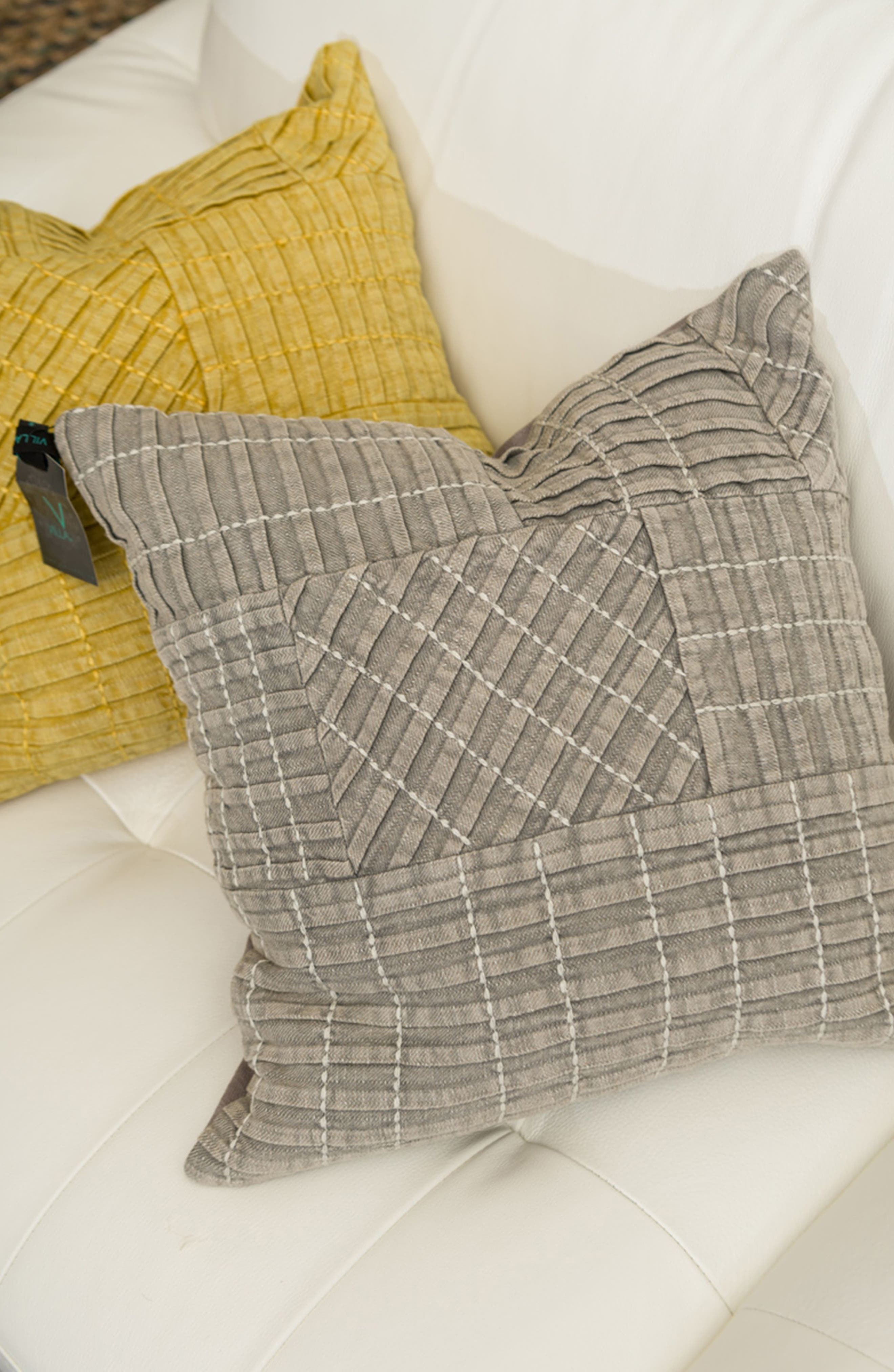 Taby Accent Pillow,                             Alternate thumbnail 2, color,                             Grey