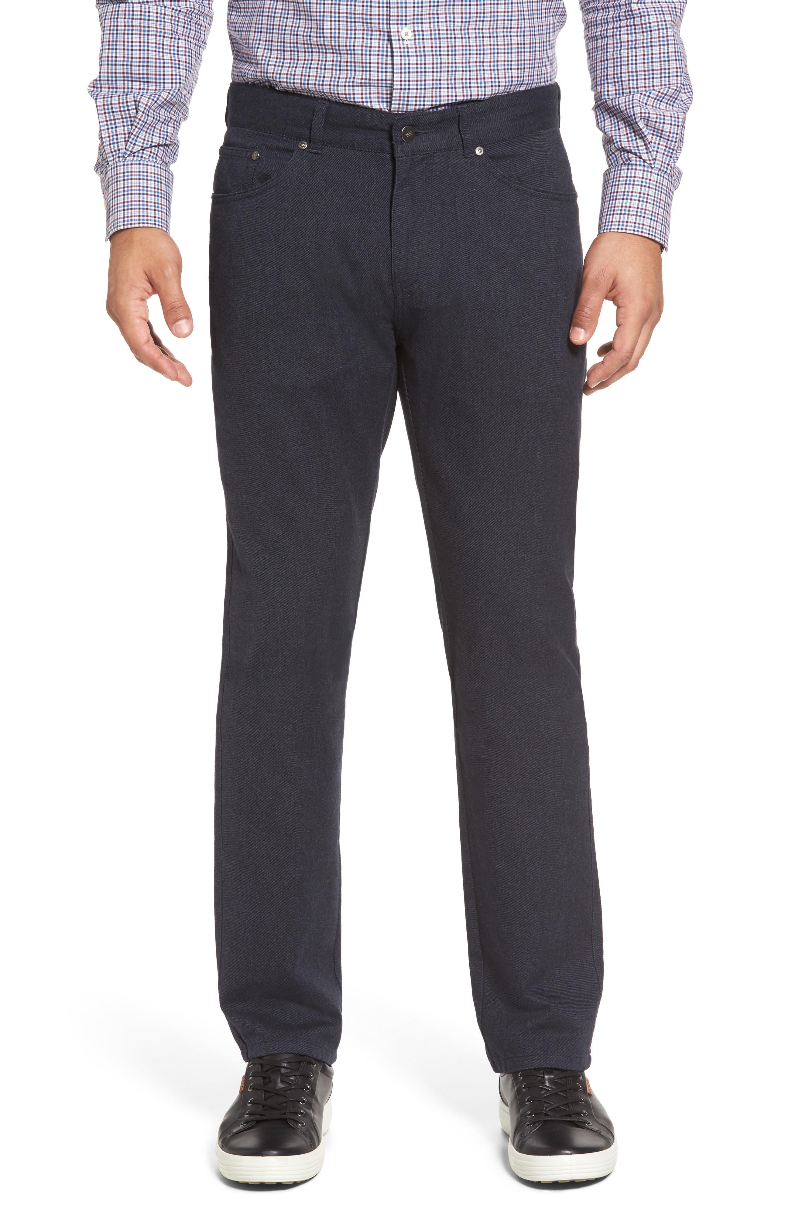 Peter Millar Mountainside Flannel Five-Pocket Pants
