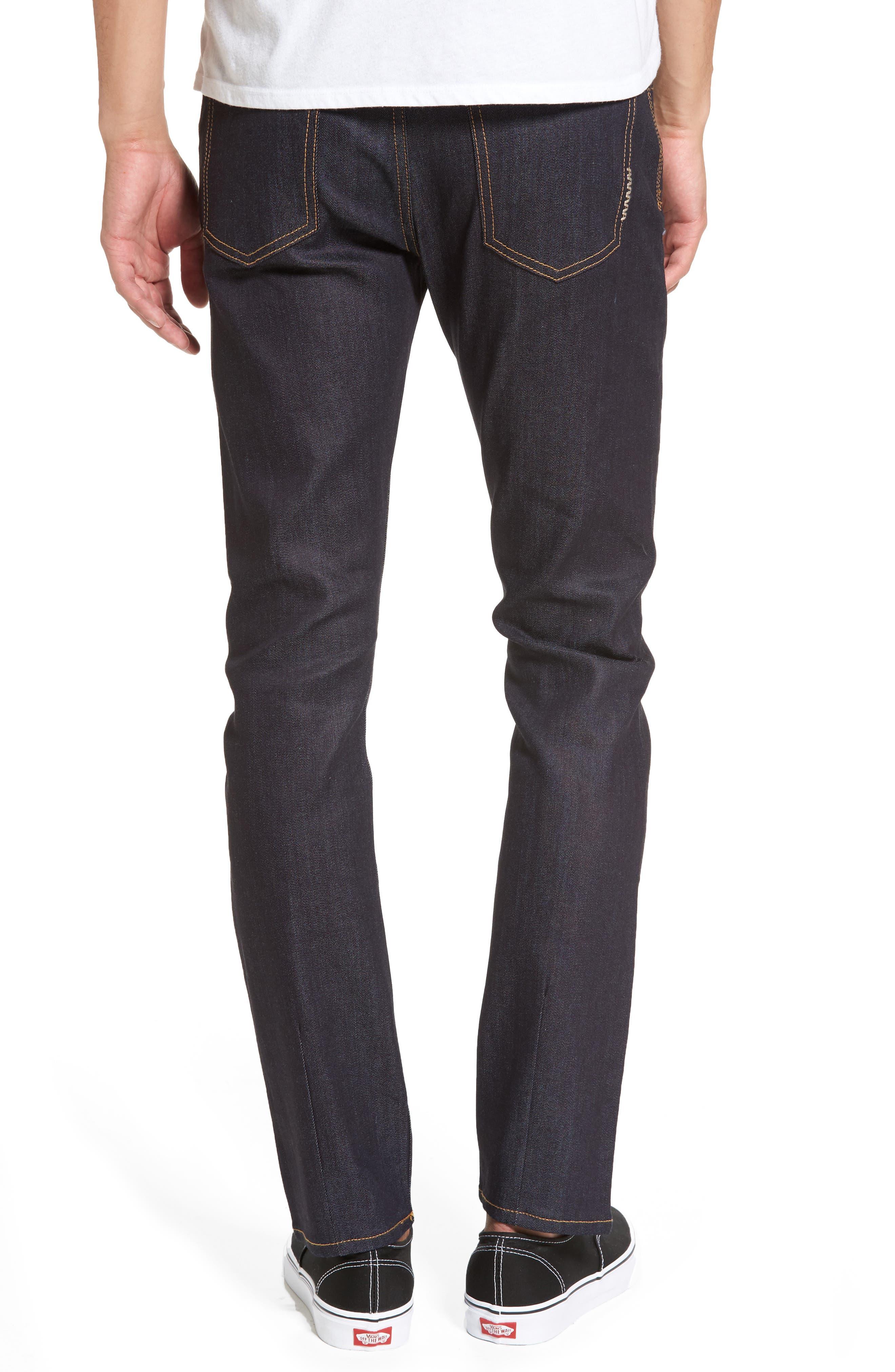 Alternate Image 2  - Neuw Iggy Skinny Jeans (Raw Stretch)