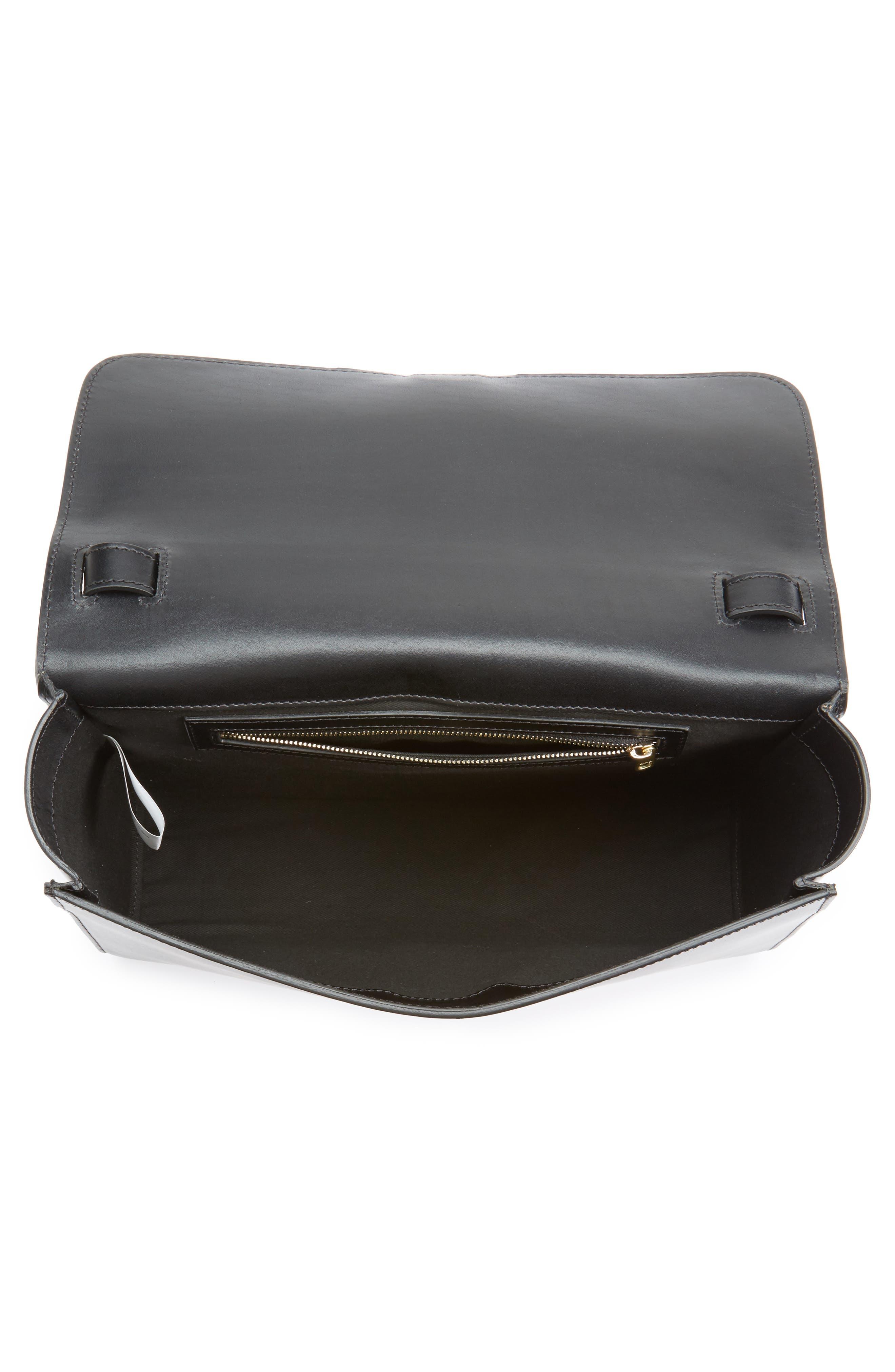 Alternate Image 3  - A.P.C. Katy Calfskin Leather Messenger Bag