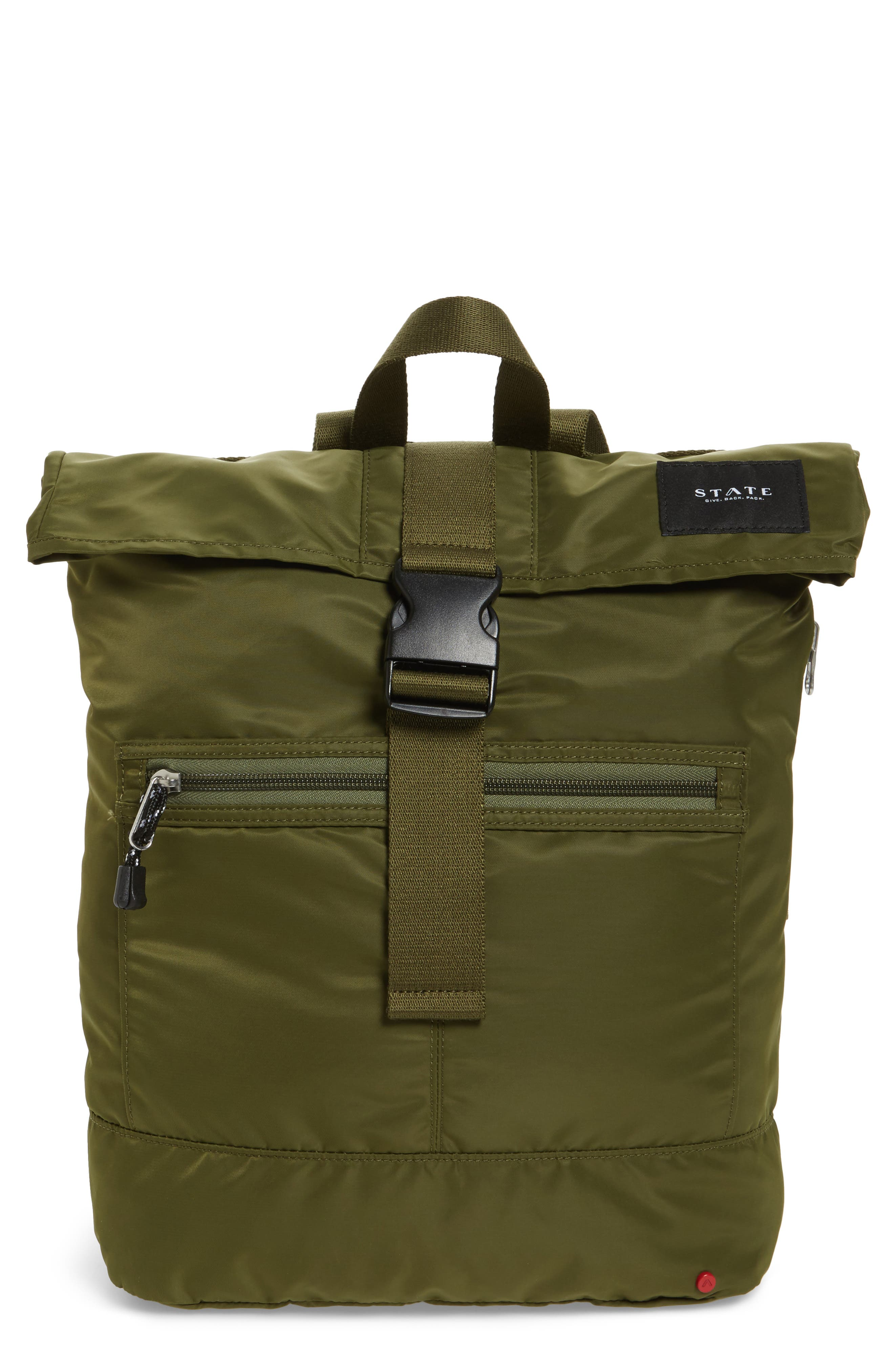 STATE BAGS Bond Heights Nylon Backpack