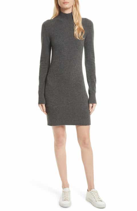 frame turtleneck cashmere sweater dress - Dress Frame