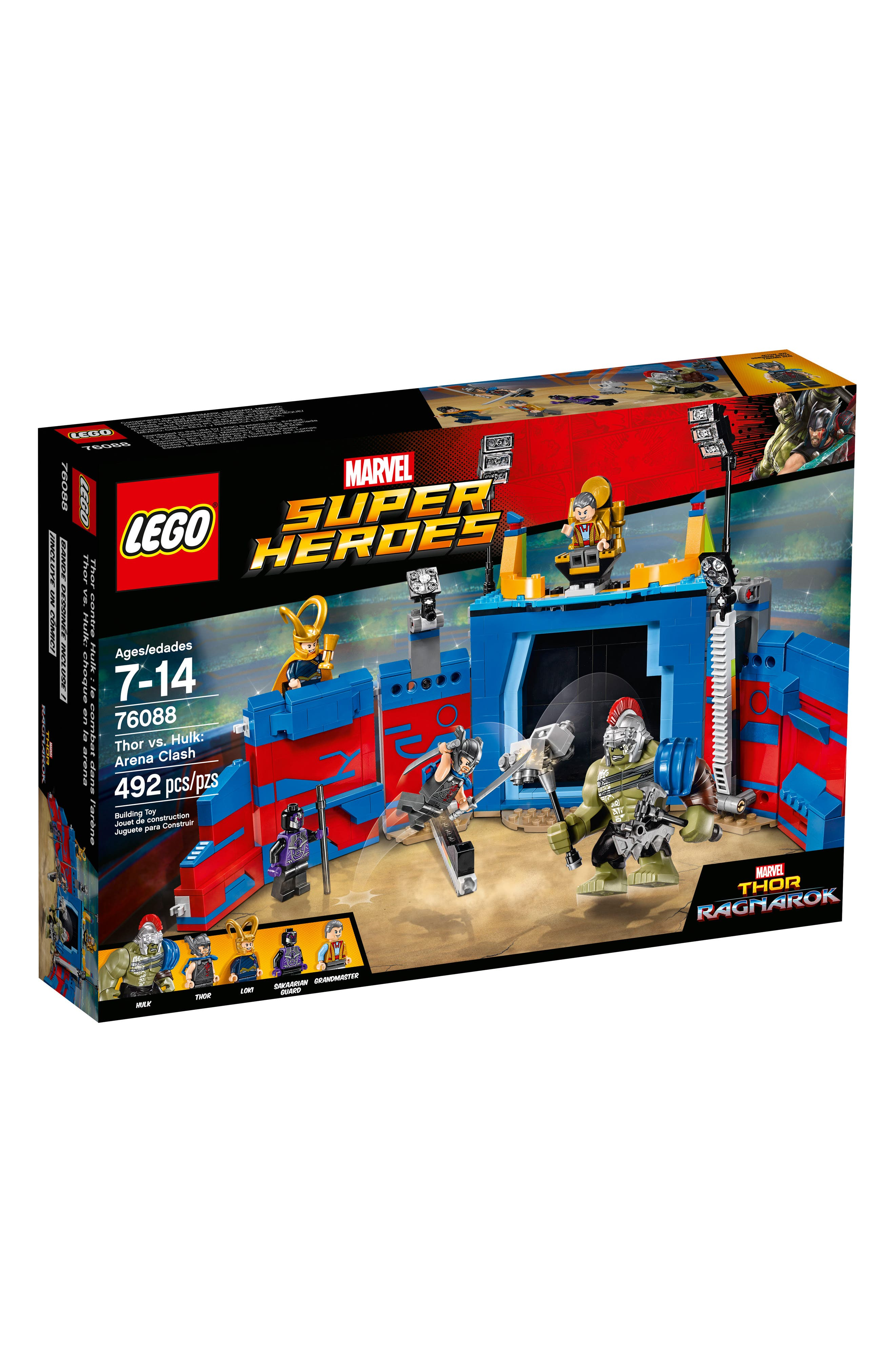 Alternate Image 1 Selected - LEGO® Marvel Super Heroes Thor vs. Hulk: Arena Clash Play Set - 76088