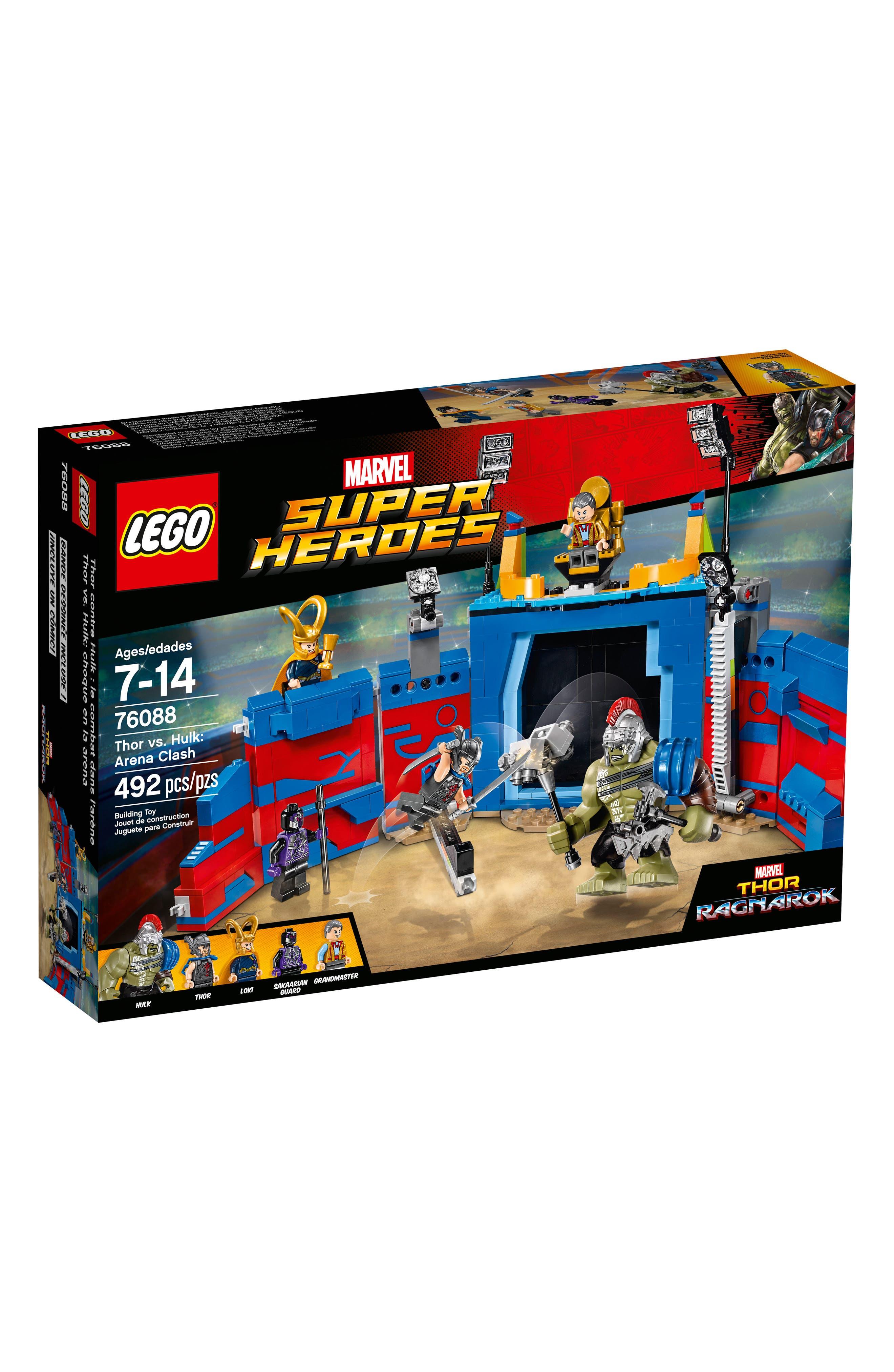 Marvel Super Heroes Thor vs. Hulk: Arena Clash Play Set - 76088,                         Main,                         color, Multi