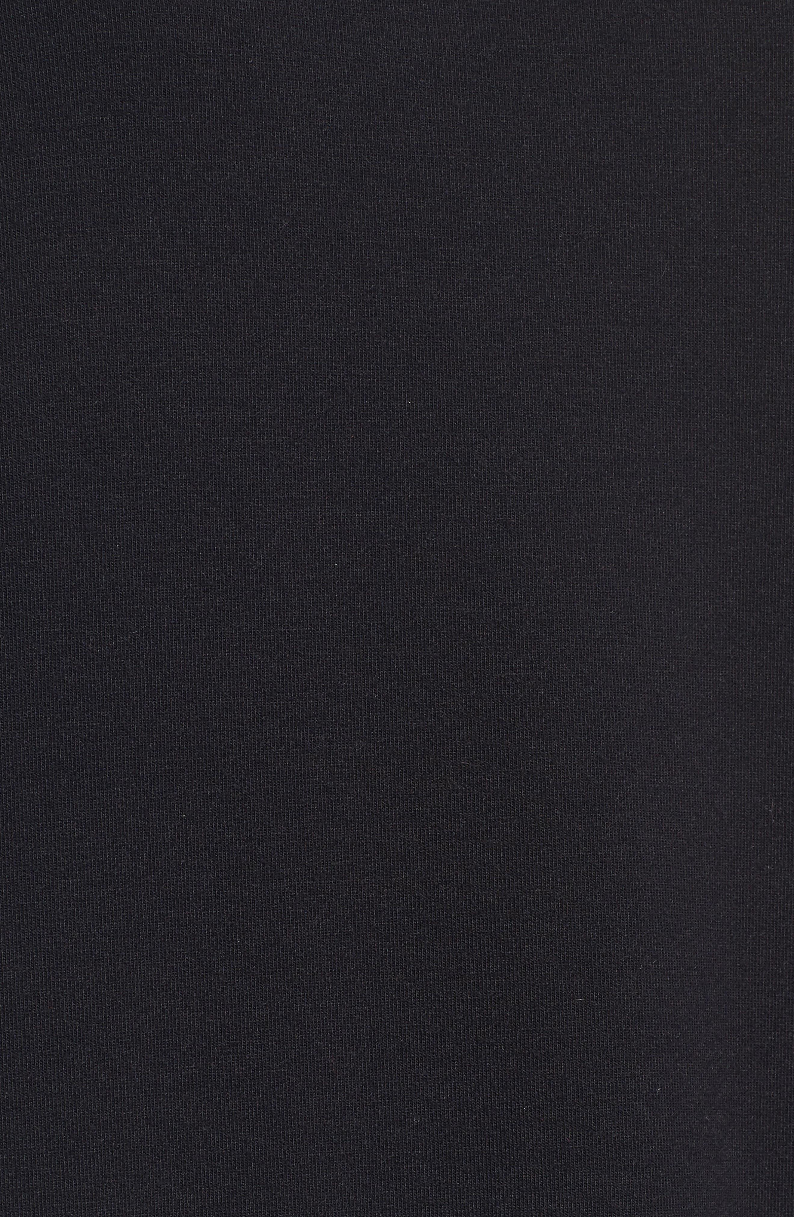 Alternate Image 5  - Halogen® Ruffle Hem Sweatshirt (Regular & Petite)