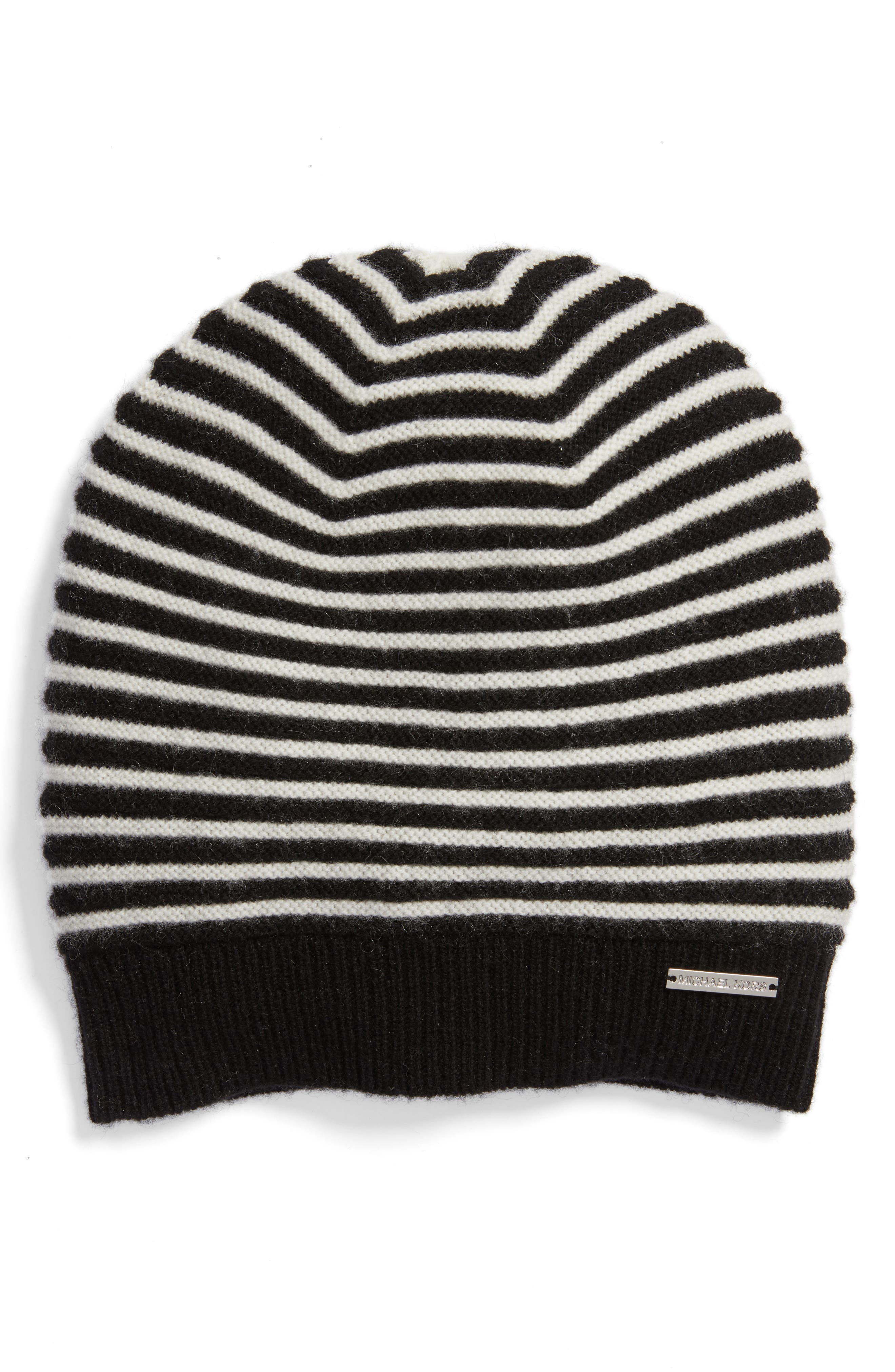 MICHAEL Michael Kors Double Links Wool & Cashmere Hat