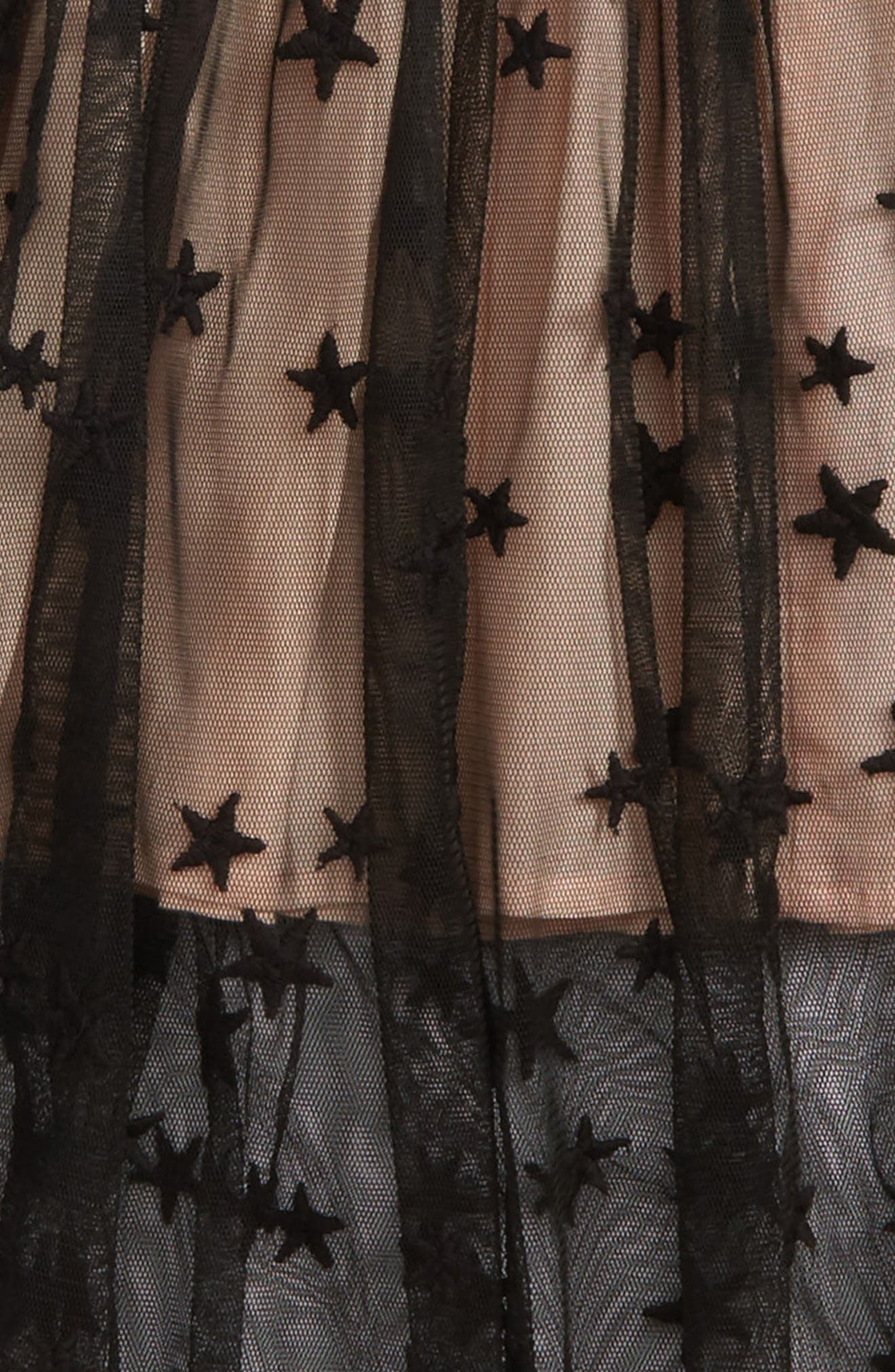 Alternate Image 2  - Stella McCartney Kids Amalie Star Tulle Skirt (Toddler Girls, Little Girls & Big Girls)