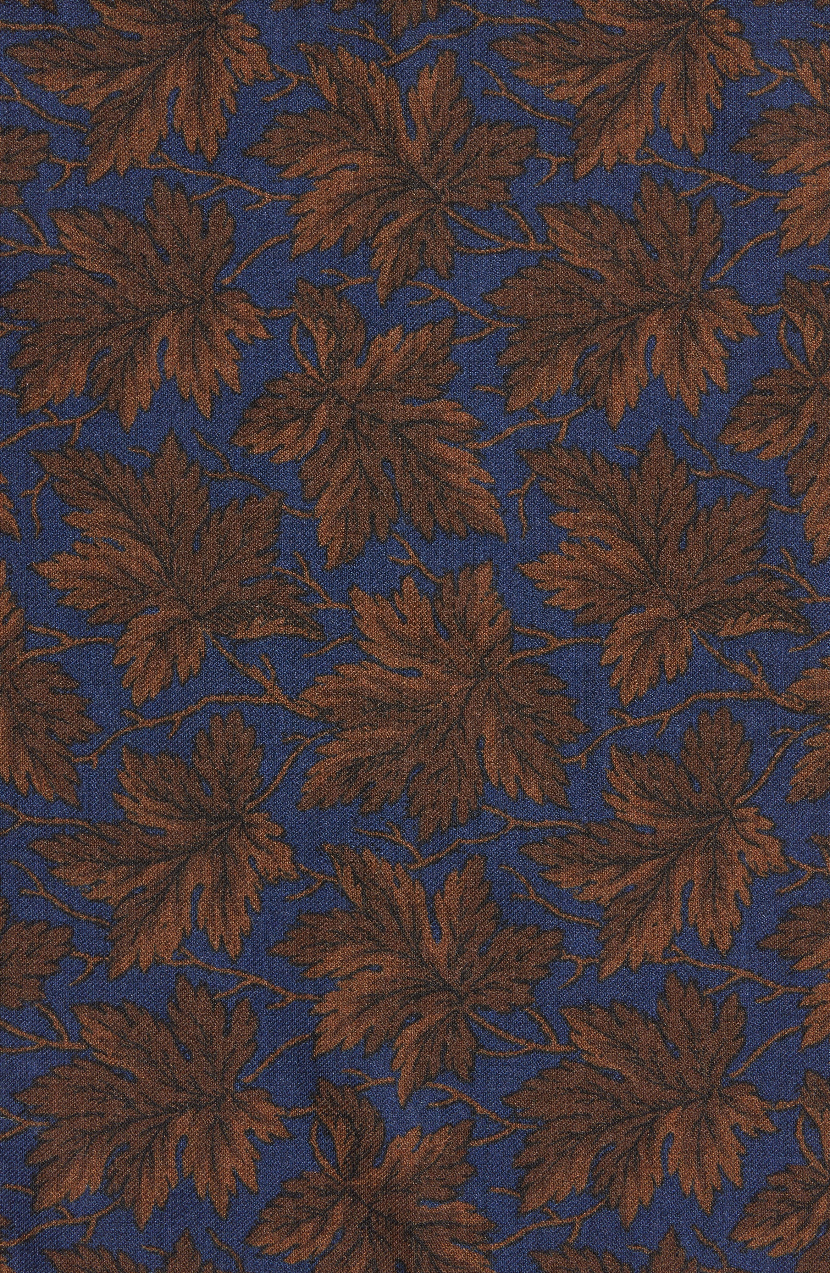 Alternate Image 3  - Bonobos Fall Leaf Wool Pocket Square