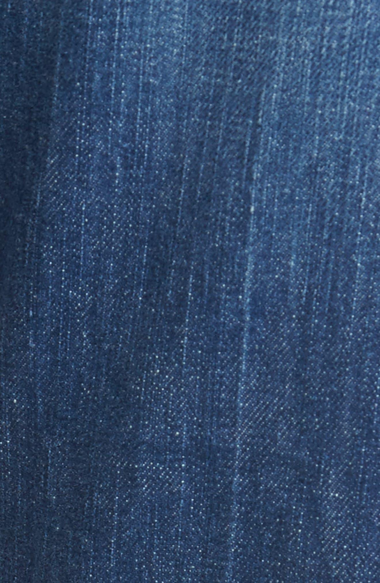 Cranfield Straight Leg Jeans,                             Alternate thumbnail 5, color,                             Denim