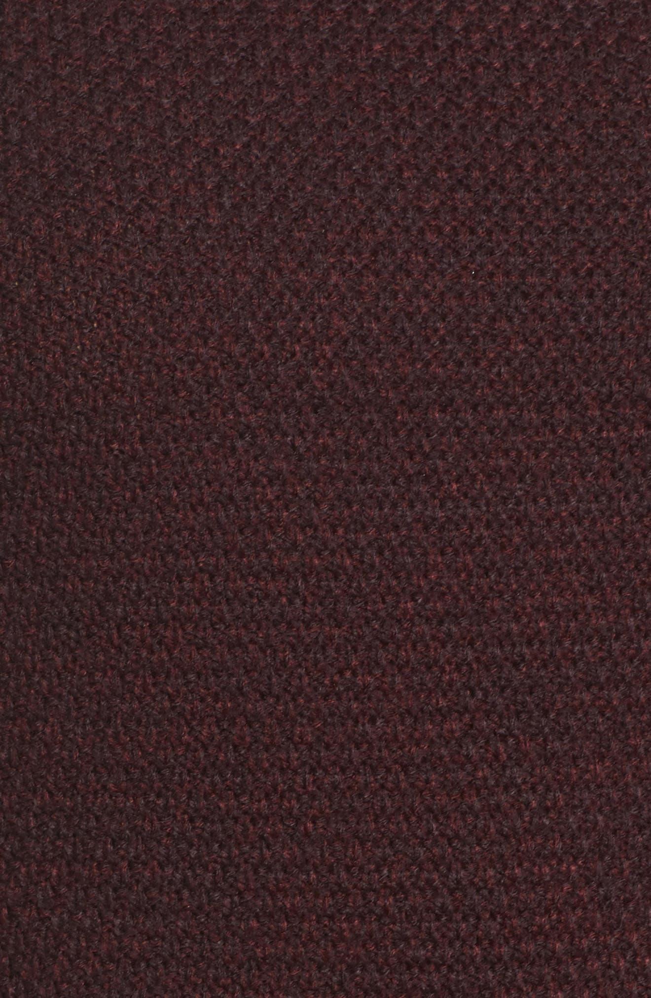 Alternate Image 5  - Foxcroft Sophia Layered Look Sweater (Plus Size)