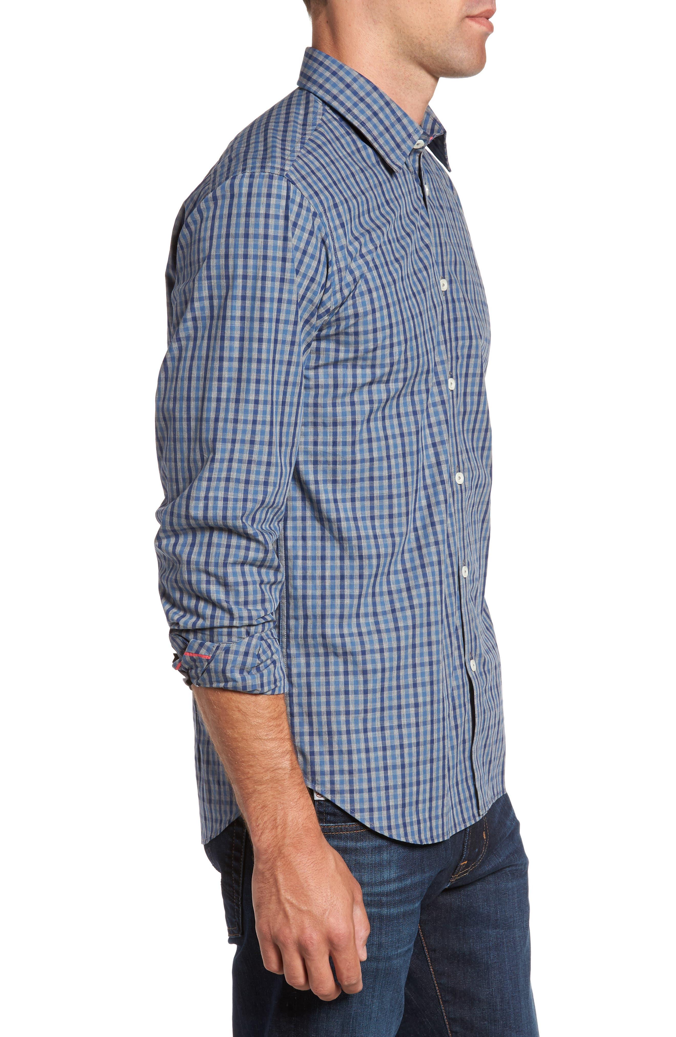 Alternate Image 3  - Jeremy Argyle Slim Fit Check Sport Shirt