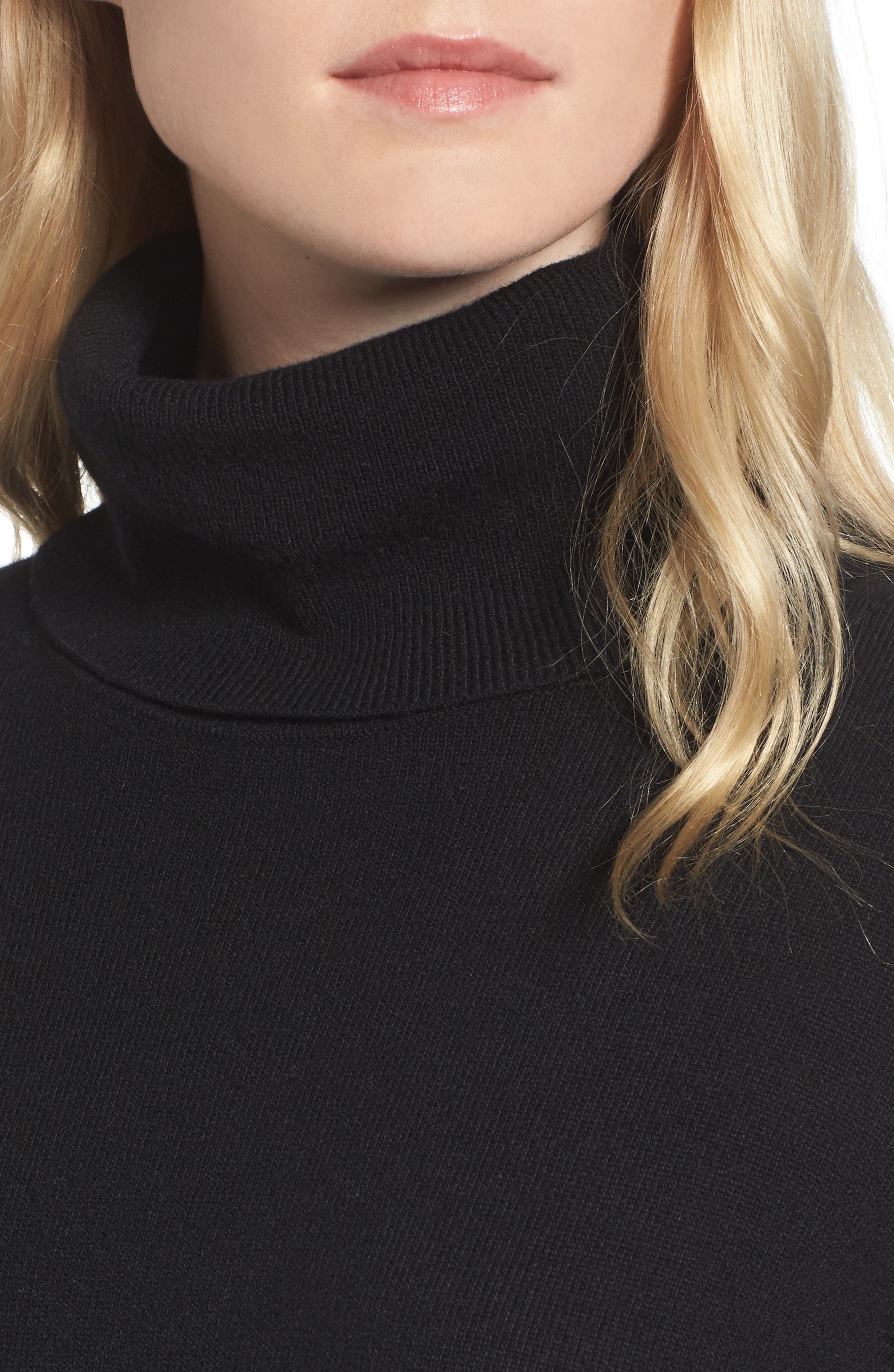 Alternate Image 4  - Pam & Gela Distressed Turtleneck Sweater
