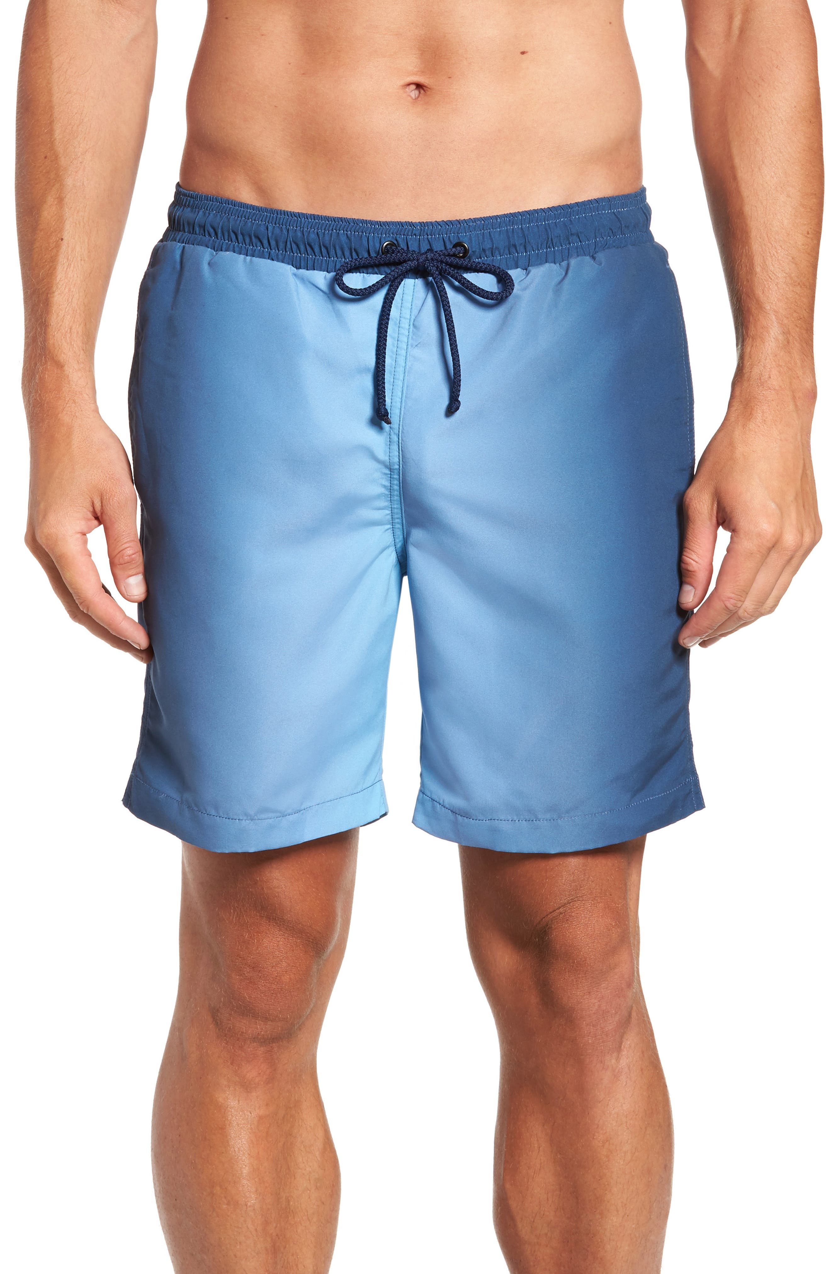 Vestige Side Ombré Swim Trunks