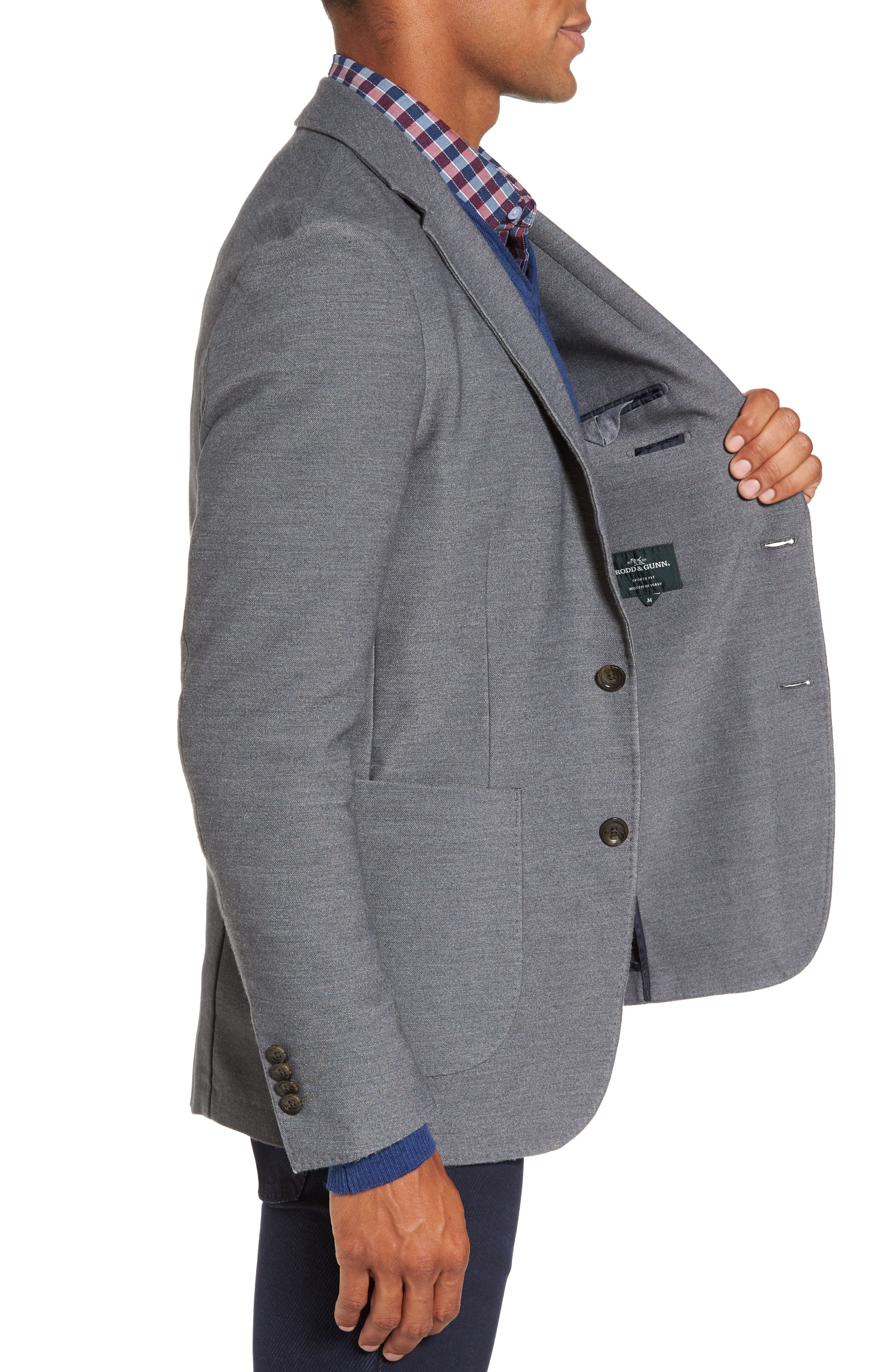 Prices Valley Sport Coat,                             Alternate thumbnail 3, color,                             Steel