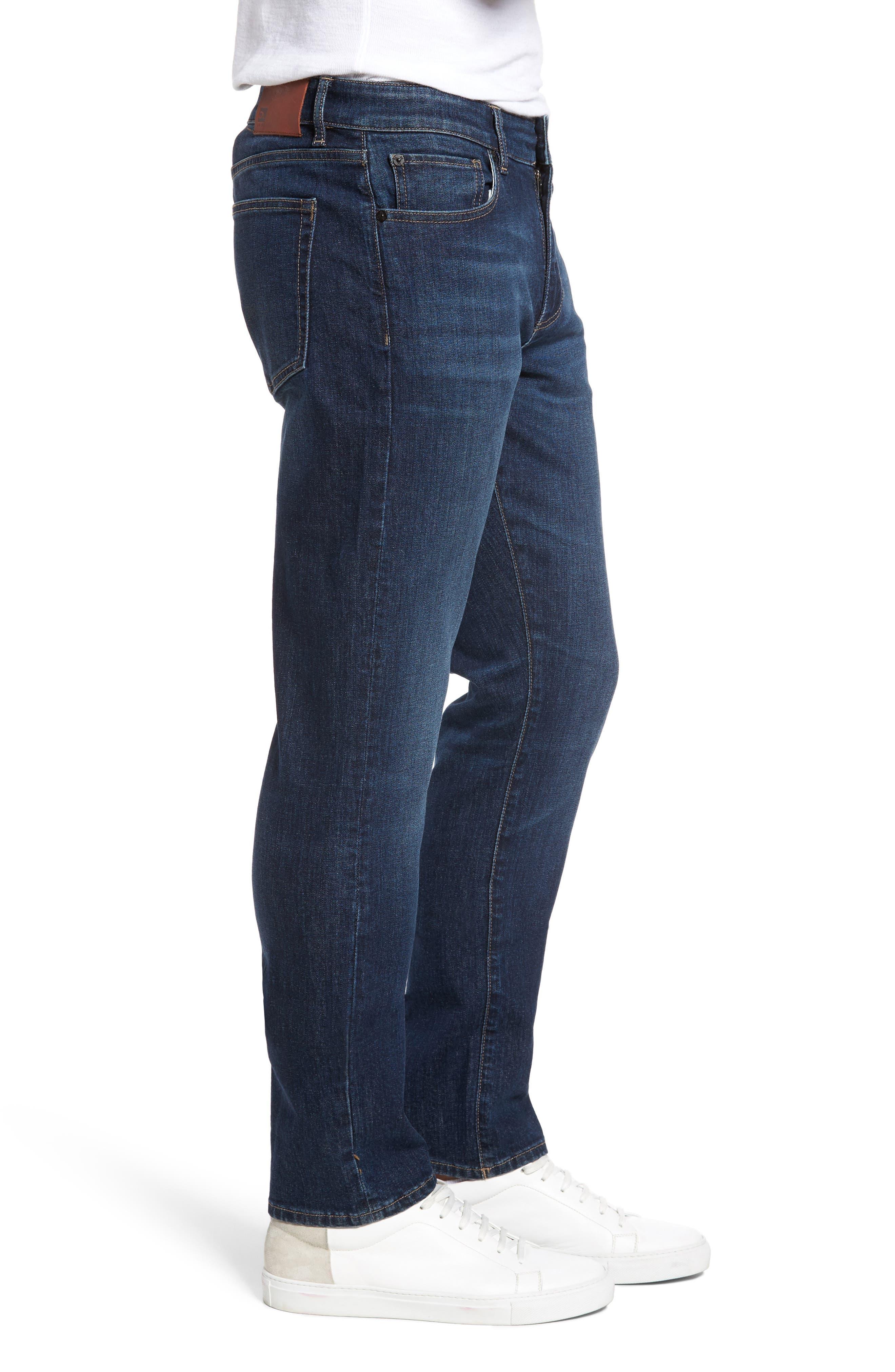 Alternate Image 3  - DL1961 Russell Slim Straight Leg Jeans (Marine)