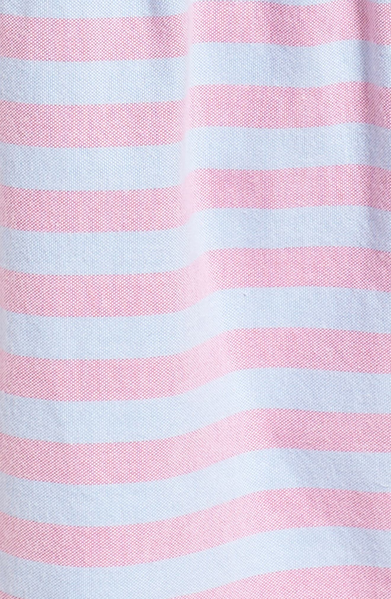 Coastside Stripe Dress,                             Alternate thumbnail 3, color,                             Light Magenta