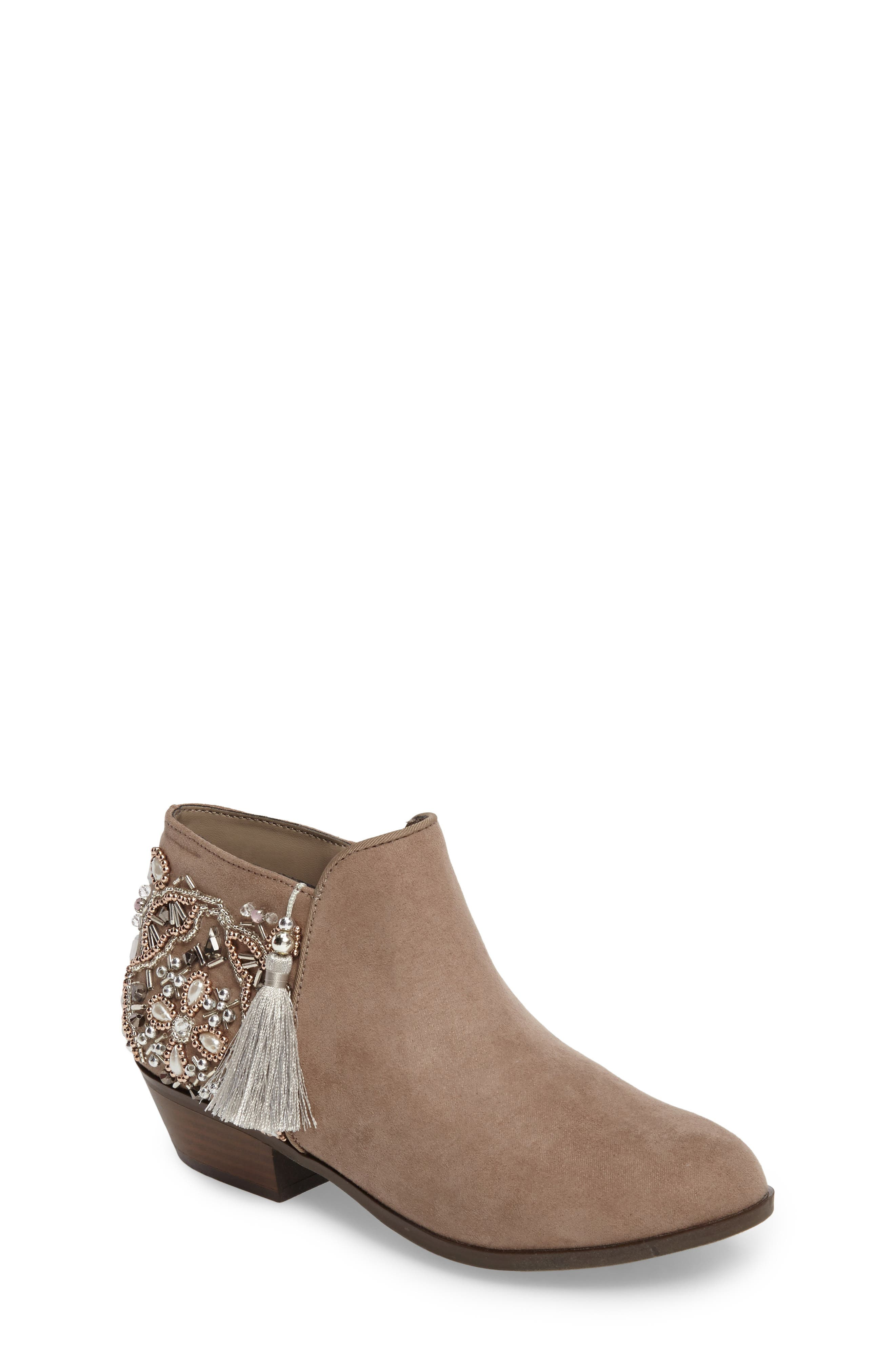 Sam Edelman Petty Jeweled Bootie (Toddler, Little Kid & Big Kid)