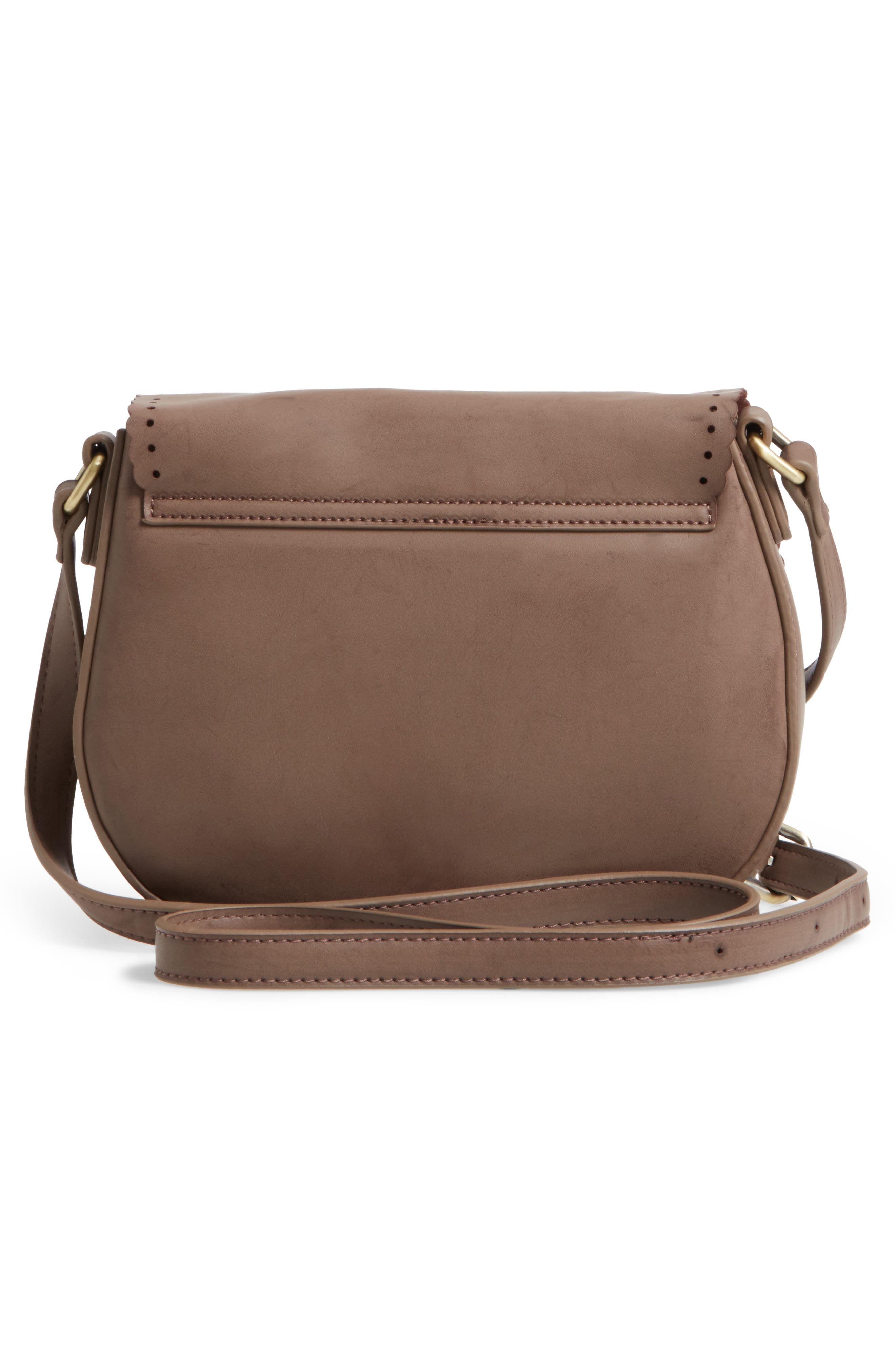 Alternate Image 2  - Shiraleah Dakota Faux Leather Saddle Bag